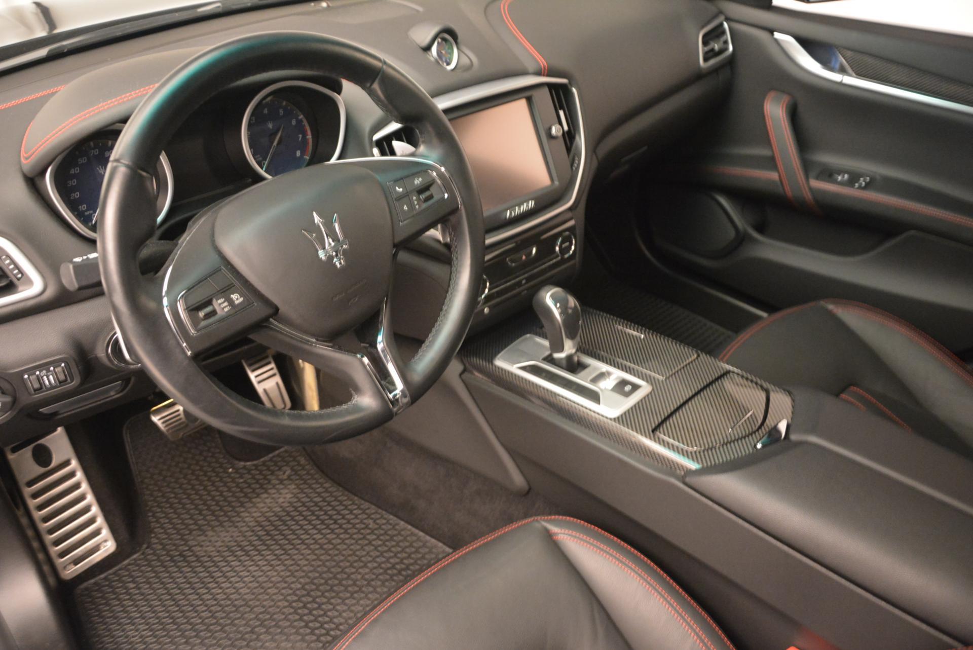 Used 2015 Maserati Ghibli S Q4 For Sale In Greenwich, CT 117_p12