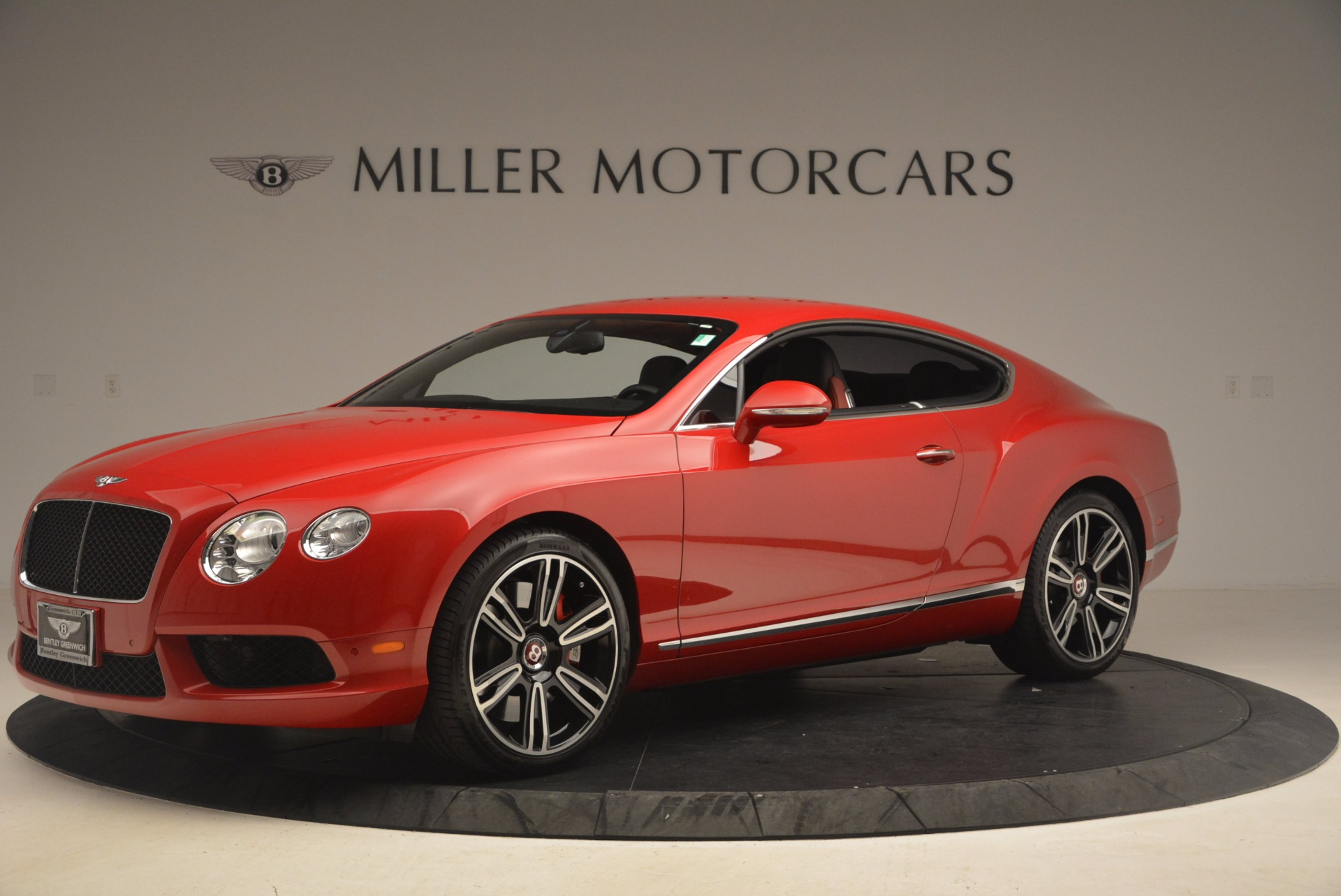Used 2013 Bentley Continental GT V8 For Sale In Greenwich, CT 1185_p2