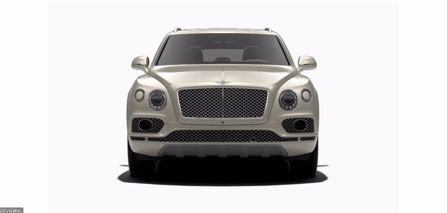 Used 2017 Bentley Bentayga W12 For Sale In Greenwich, CT 1209_p2