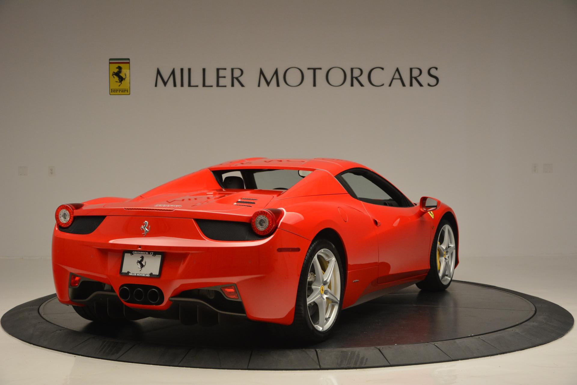Used 2014 Ferrari 458 Spider  For Sale In Greenwich, CT 122_p19