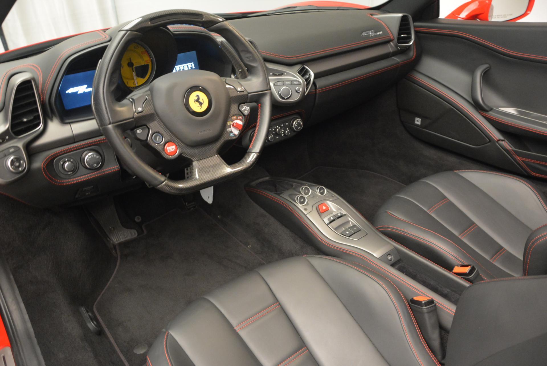 Used 2014 Ferrari 458 Spider  For Sale In Greenwich, CT 122_p25