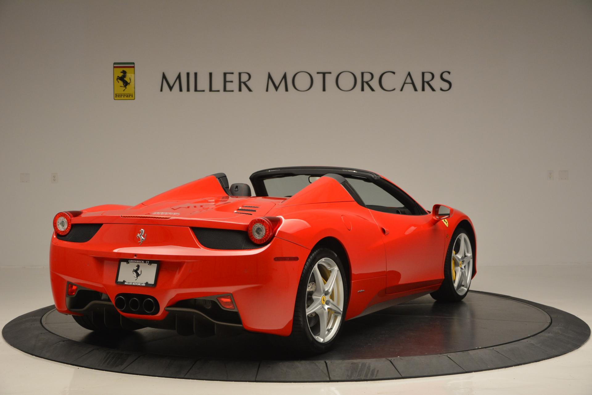 Used 2014 Ferrari 458 Spider  For Sale In Greenwich, CT 122_p7
