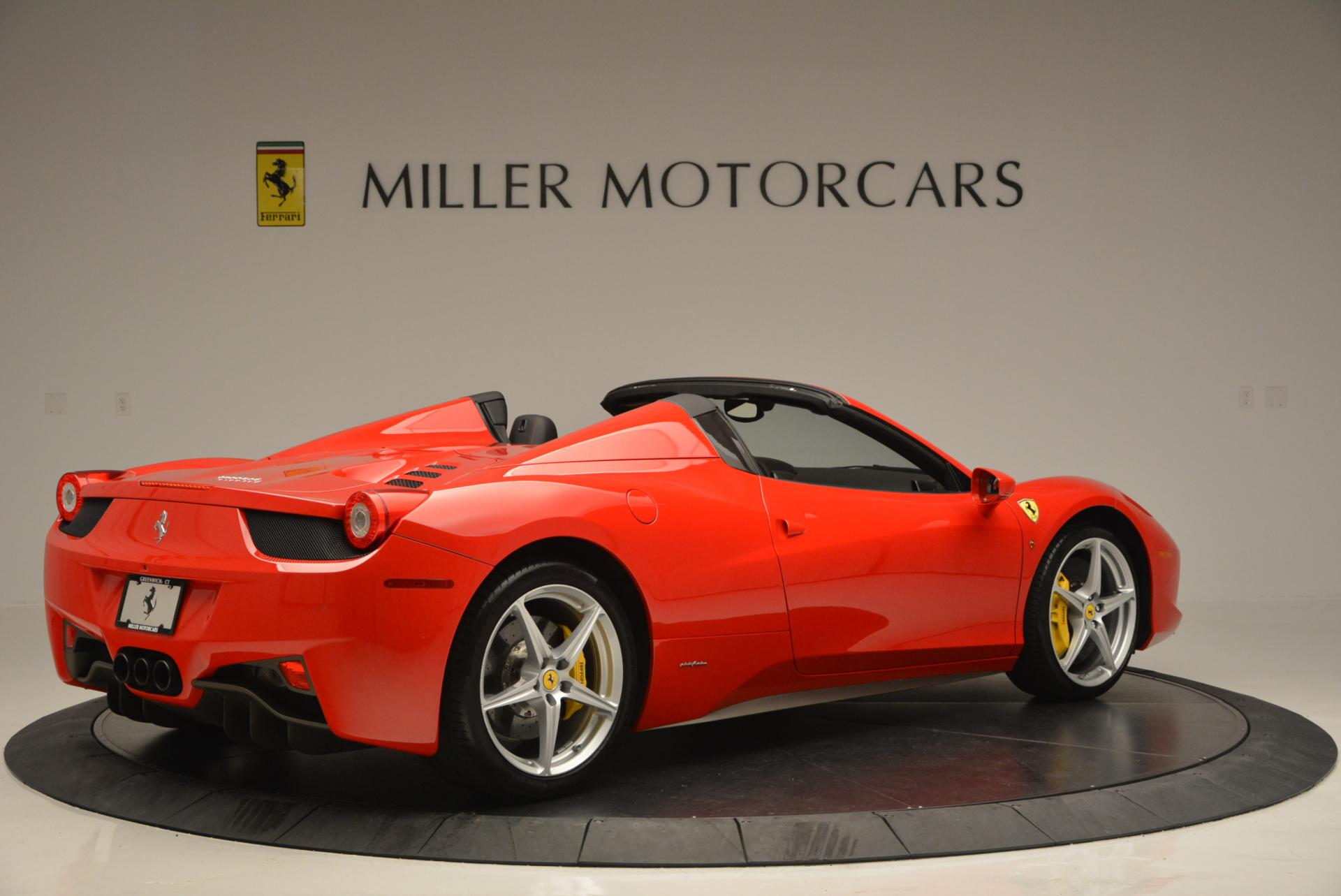 Used 2014 Ferrari 458 Spider  For Sale In Greenwich, CT 122_p8