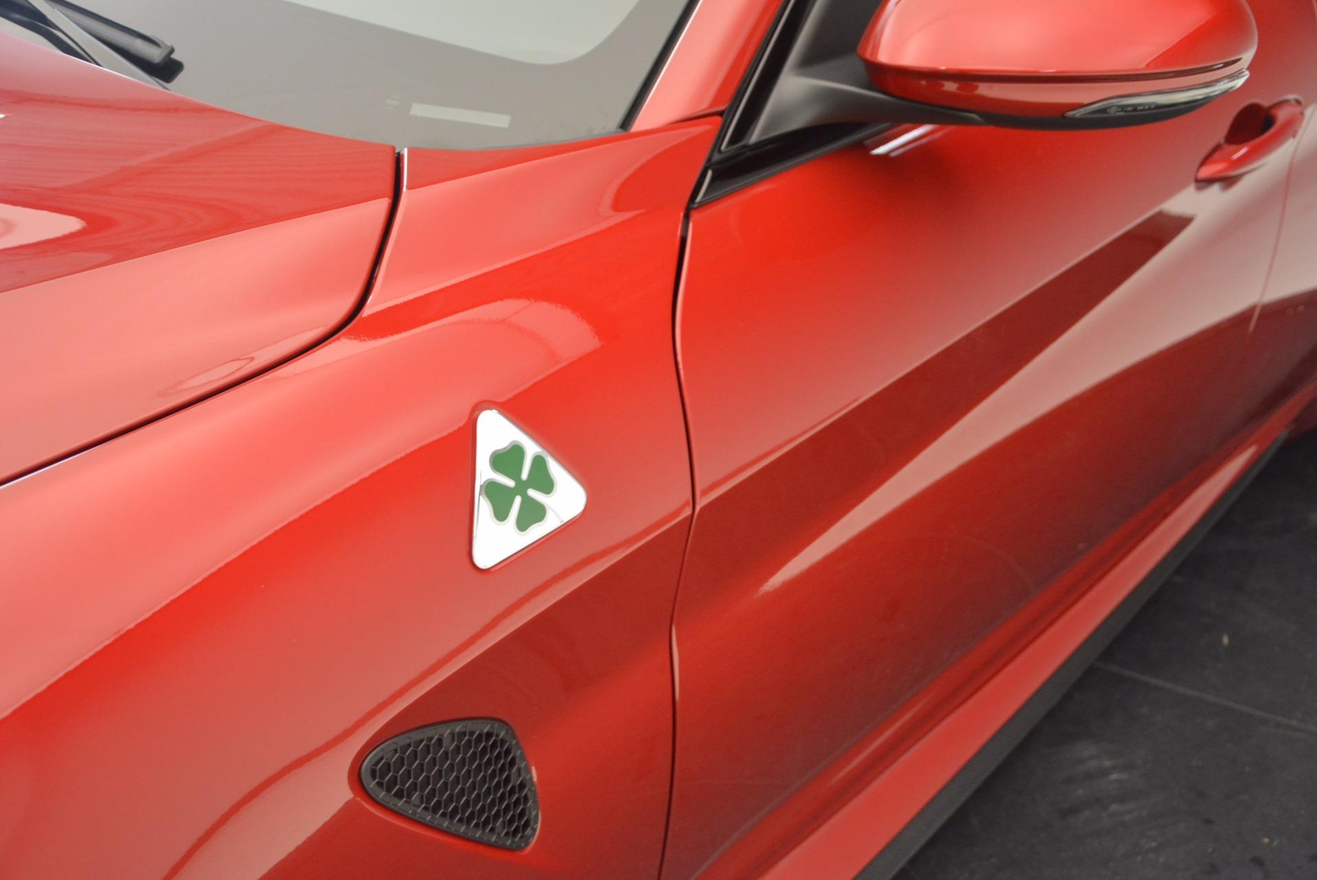 New 2017 Alfa Romeo Giulia Quadrifoglio Quadrifoglio For Sale In Greenwich, CT 1226_p28