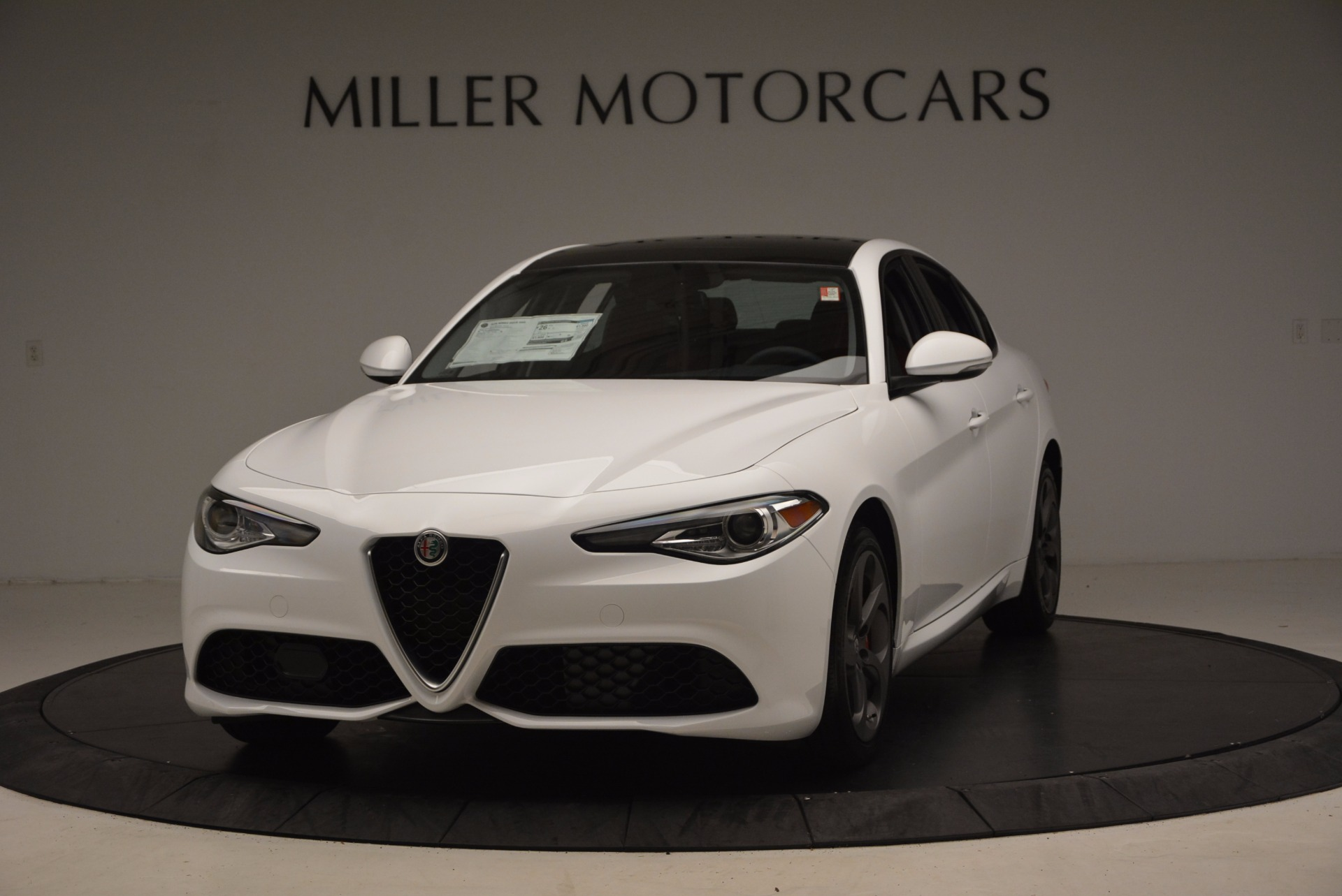 New 2017 Alfa Romeo Giulia Q4 For Sale In Greenwich, CT 1242_main