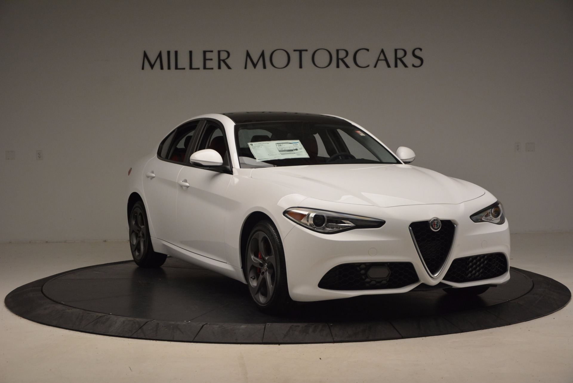 New 2017 Alfa Romeo Giulia Q4 For Sale In Greenwich, CT 1242_p13