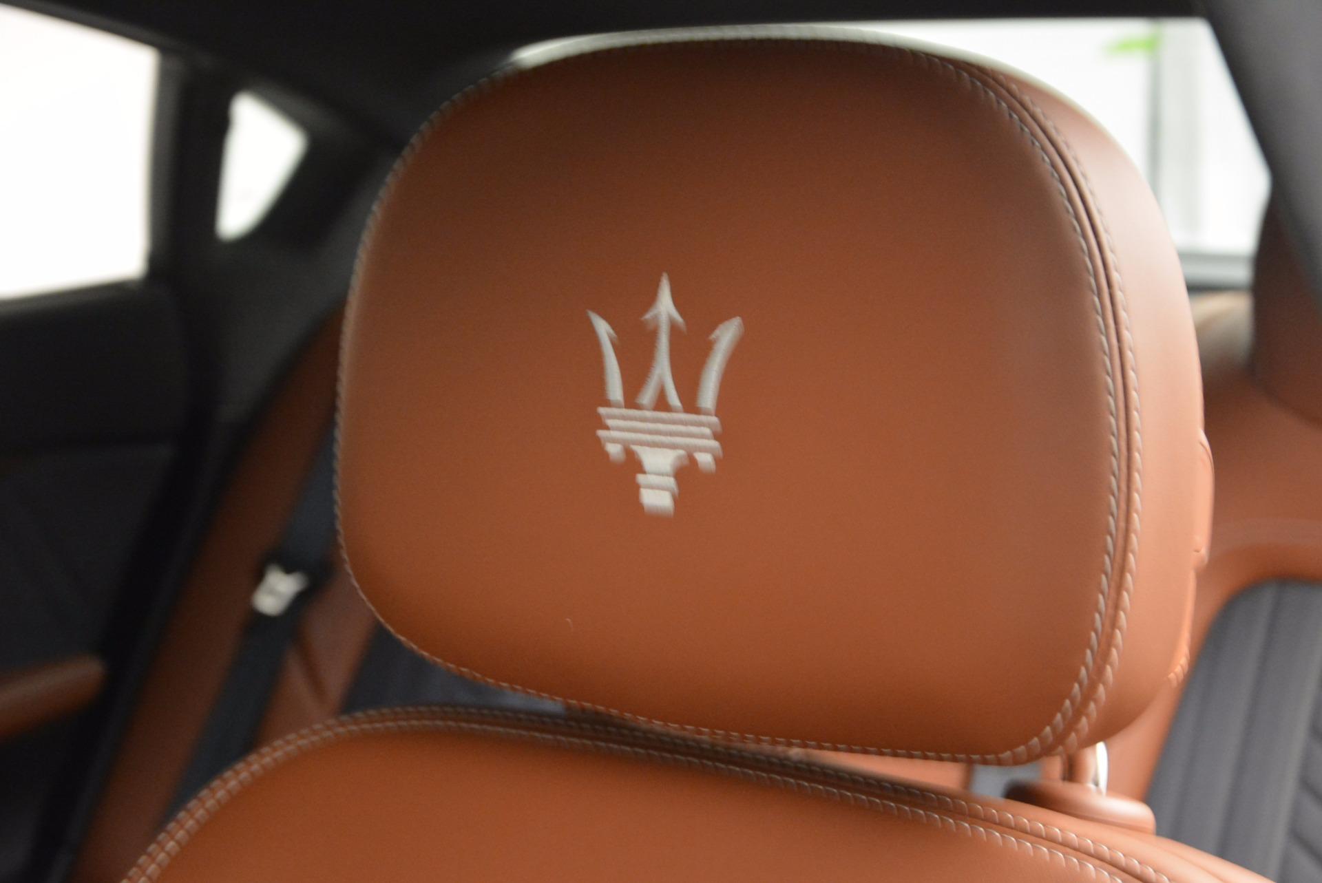 New 2017 Maserati Quattroporte S Q4 GranLusso For Sale In Greenwich, CT 1266_p20