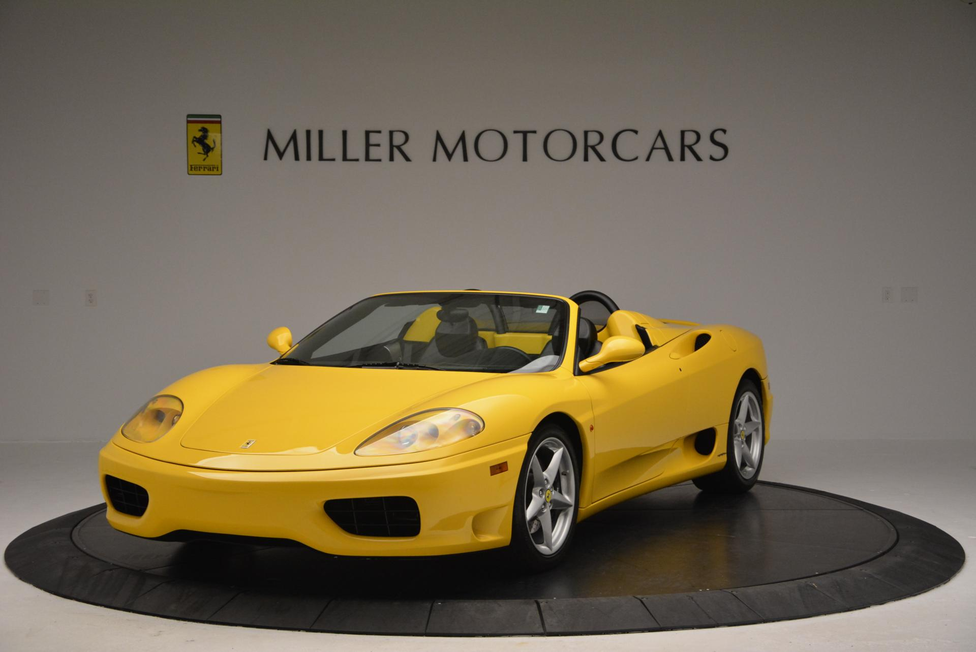 Used 2003 Ferrari 360 Spider 6-Speed Manual  For Sale In Greenwich, CT 127_main