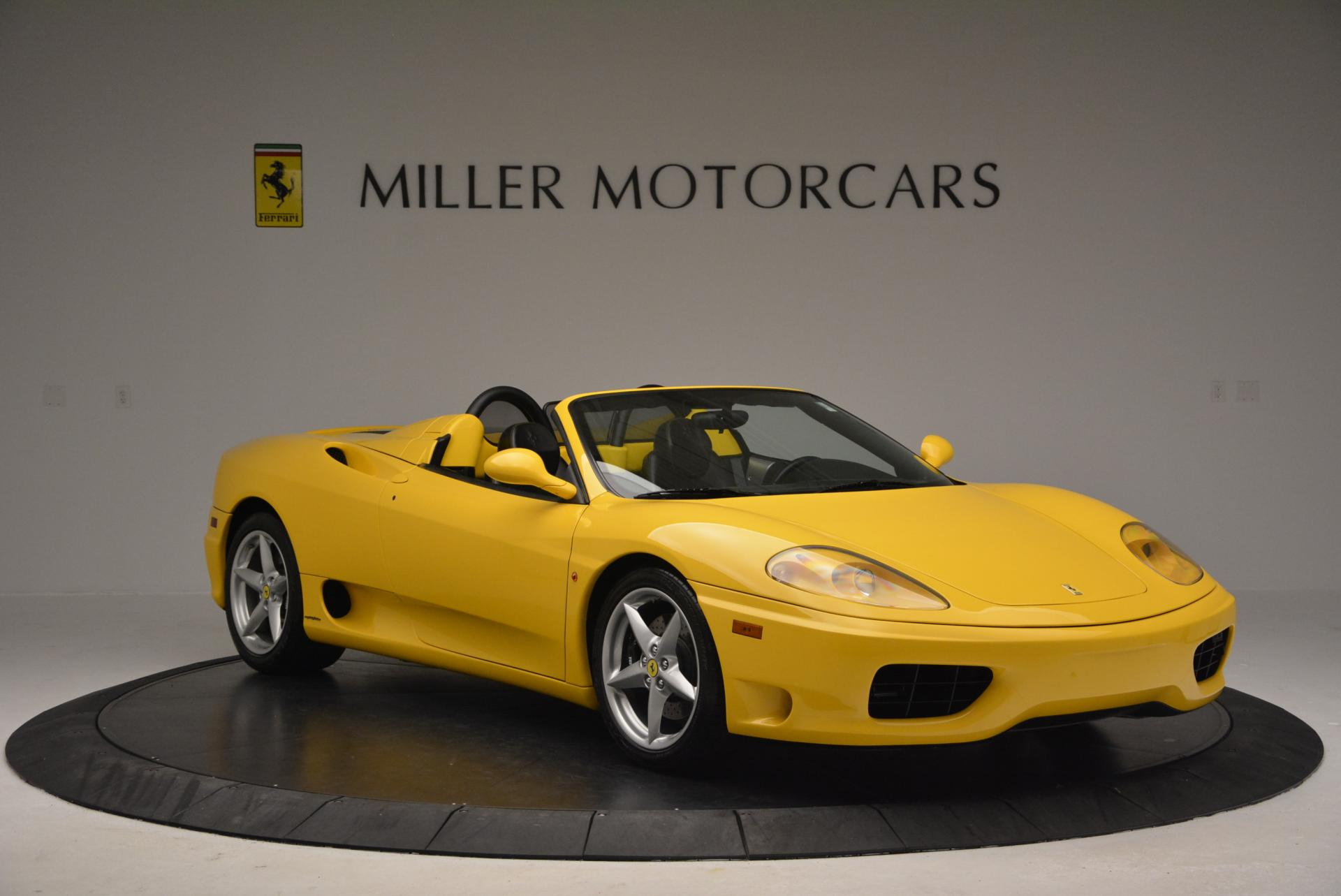 Used 2003 Ferrari 360 Spider 6-Speed Manual  For Sale In Greenwich, CT 127_p11