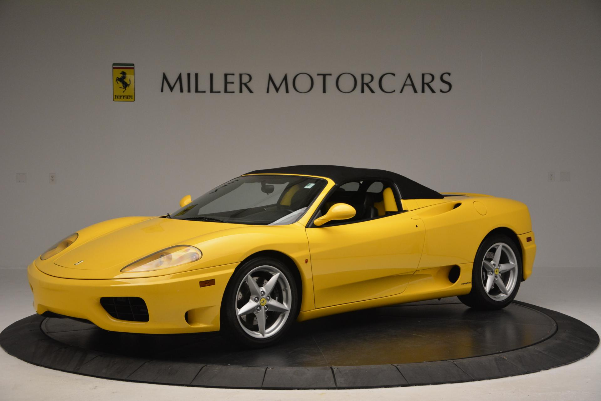 Used 2003 Ferrari 360 Spider 6-Speed Manual  For Sale In Greenwich, CT 127_p14