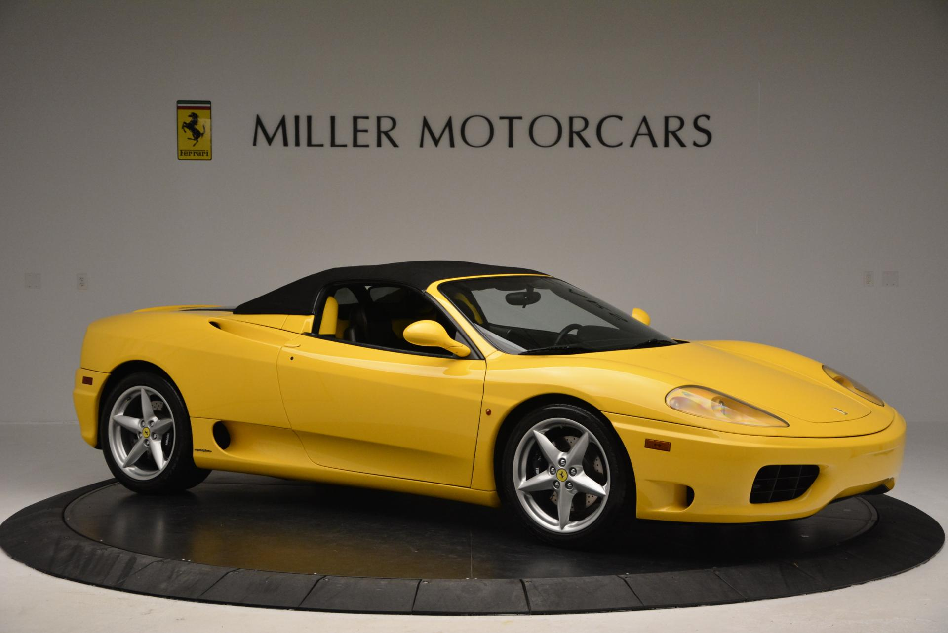 Used 2003 Ferrari 360 Spider 6-Speed Manual  For Sale In Greenwich, CT 127_p22
