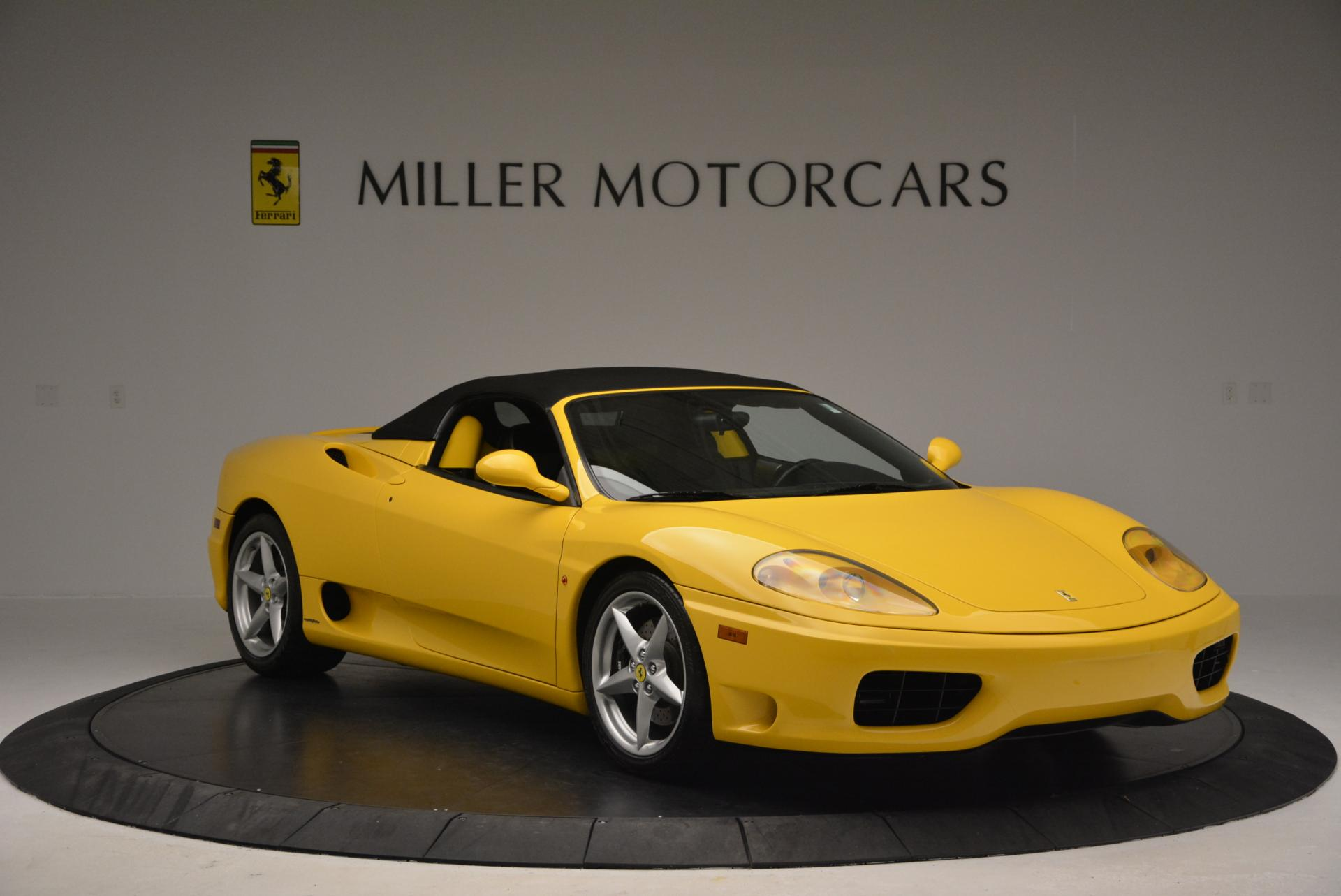 Used 2003 Ferrari 360 Spider 6-Speed Manual  For Sale In Greenwich, CT 127_p23