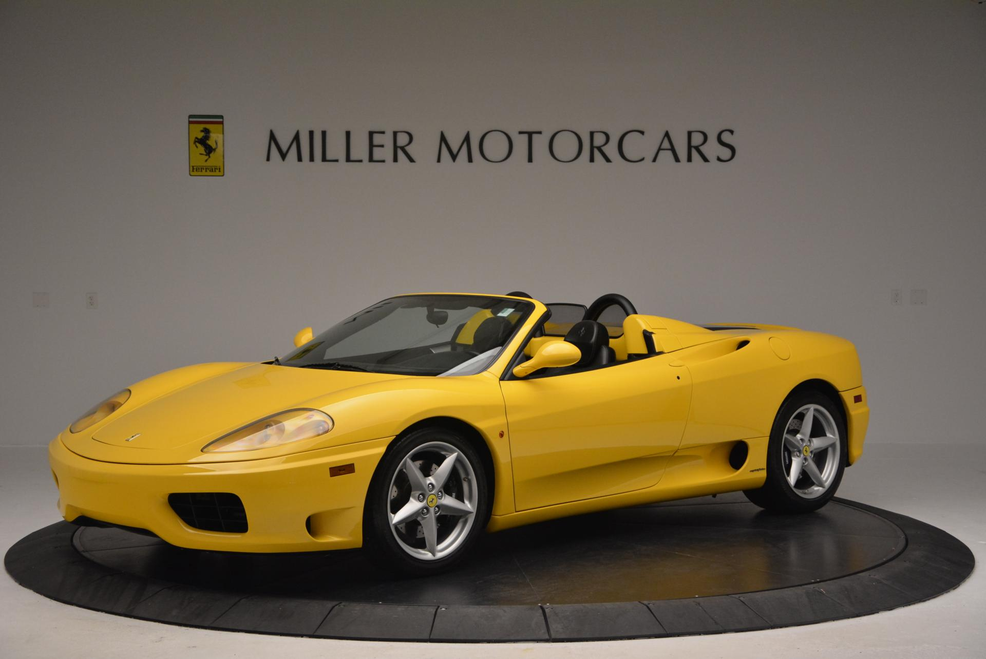 Used 2003 Ferrari 360 Spider 6-Speed Manual  For Sale In Greenwich, CT 127_p2