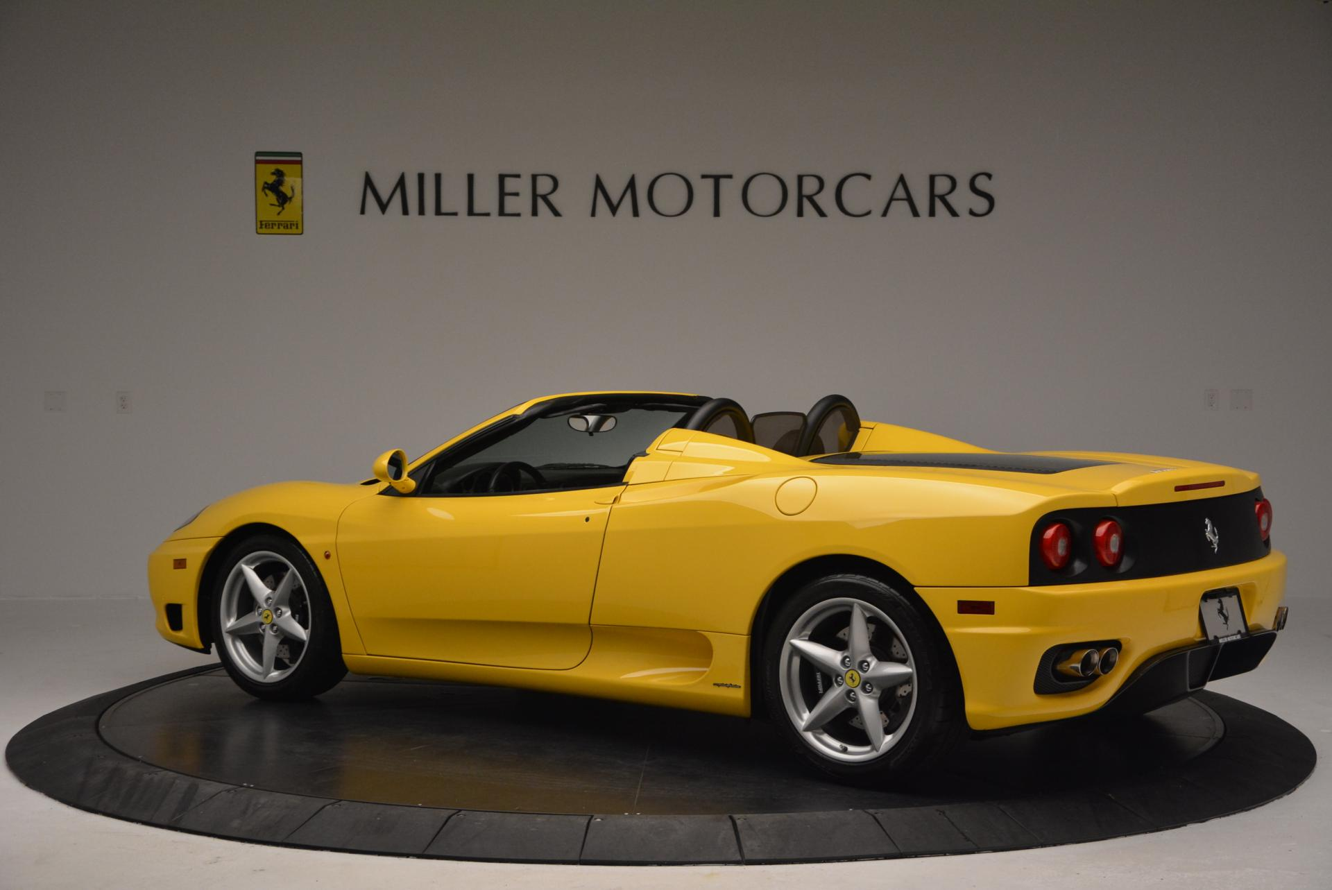 Used 2003 Ferrari 360 Spider 6-Speed Manual  For Sale In Greenwich, CT 127_p4