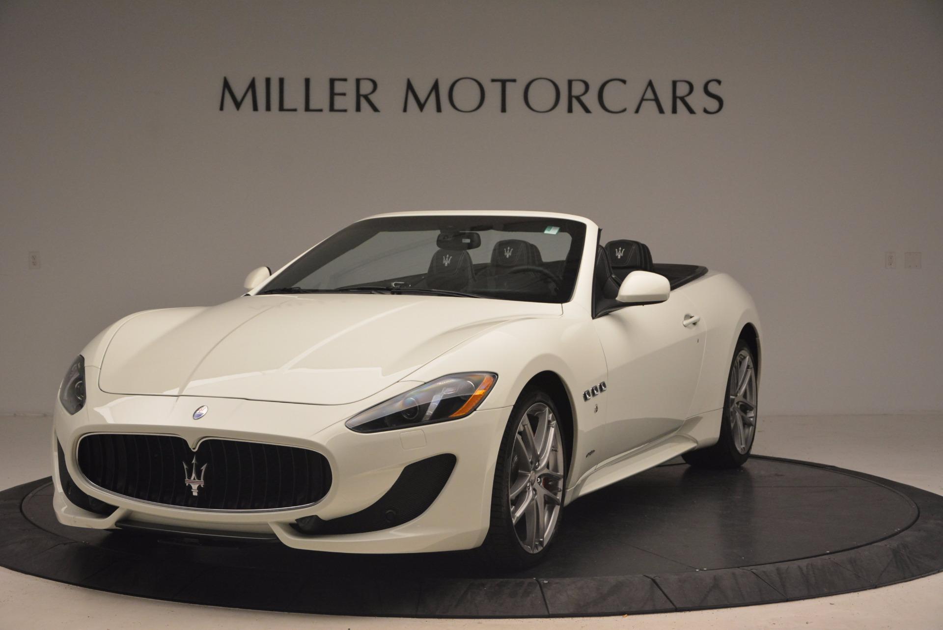Used 2016 Maserati GranTurismo Sport For Sale In Greenwich, CT 1278_main