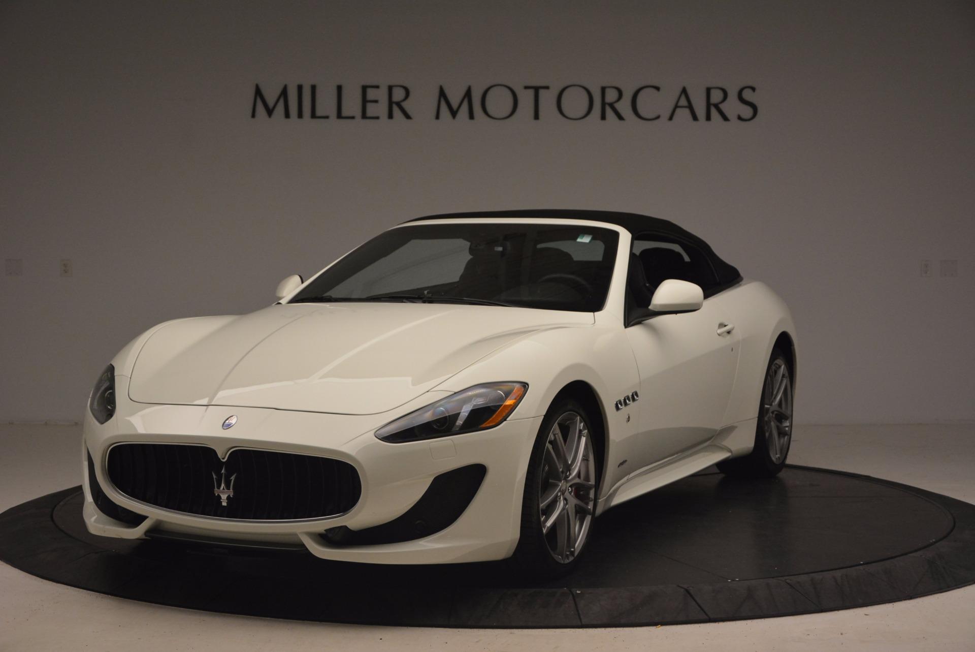 Used 2016 Maserati GranTurismo Sport For Sale In Greenwich, CT 1278_p14