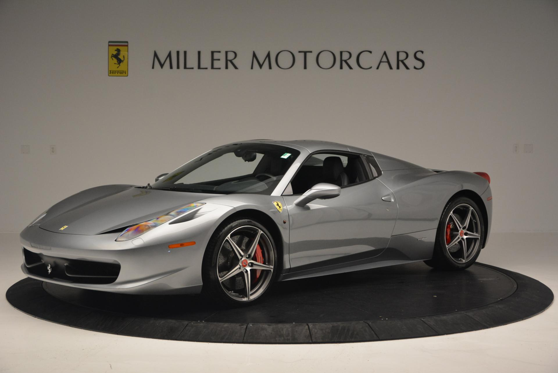 Used 2013 Ferrari 458 Spider  For Sale In Greenwich, CT 128_p14