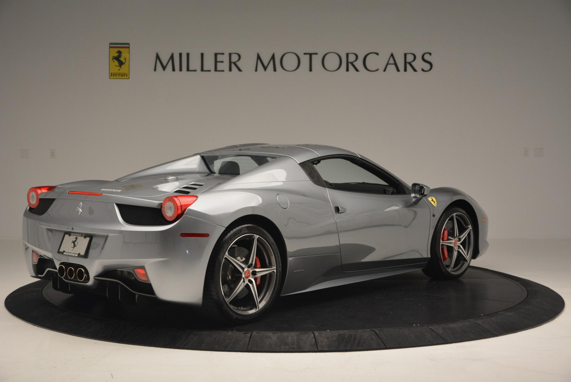 Used 2013 Ferrari 458 Spider  For Sale In Greenwich, CT 128_p20