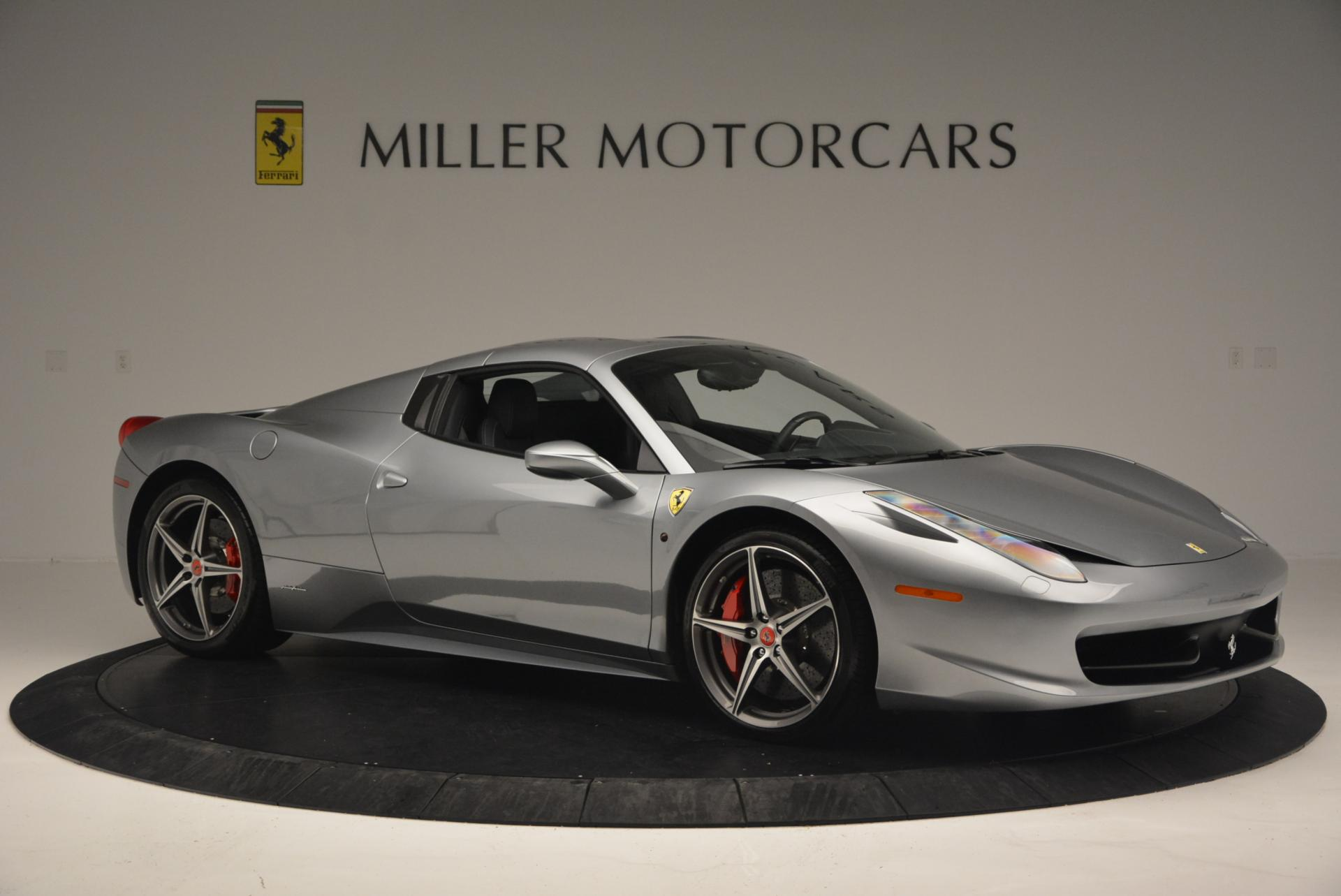 Used 2013 Ferrari 458 Spider  For Sale In Greenwich, CT 128_p22