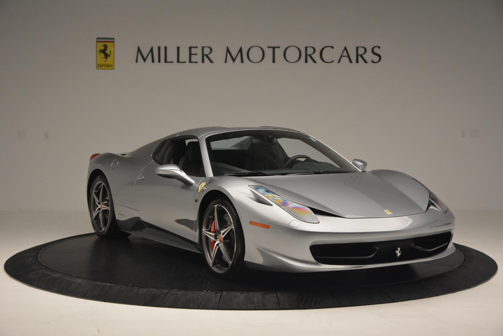 Used 2013 Ferrari 458 Spider  For Sale In Greenwich, CT 128_p23