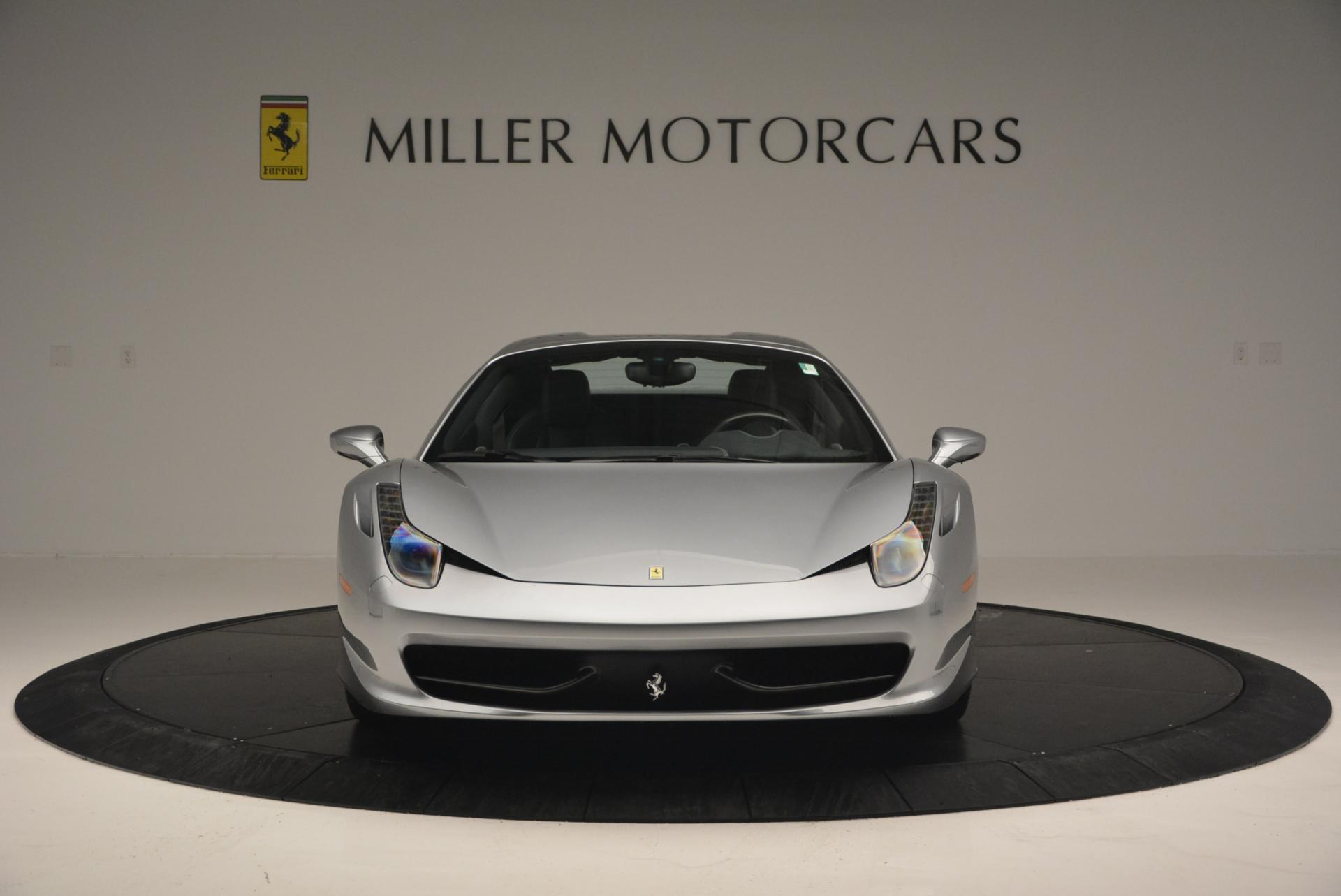 Used 2013 Ferrari 458 Spider  For Sale In Greenwich, CT 128_p24