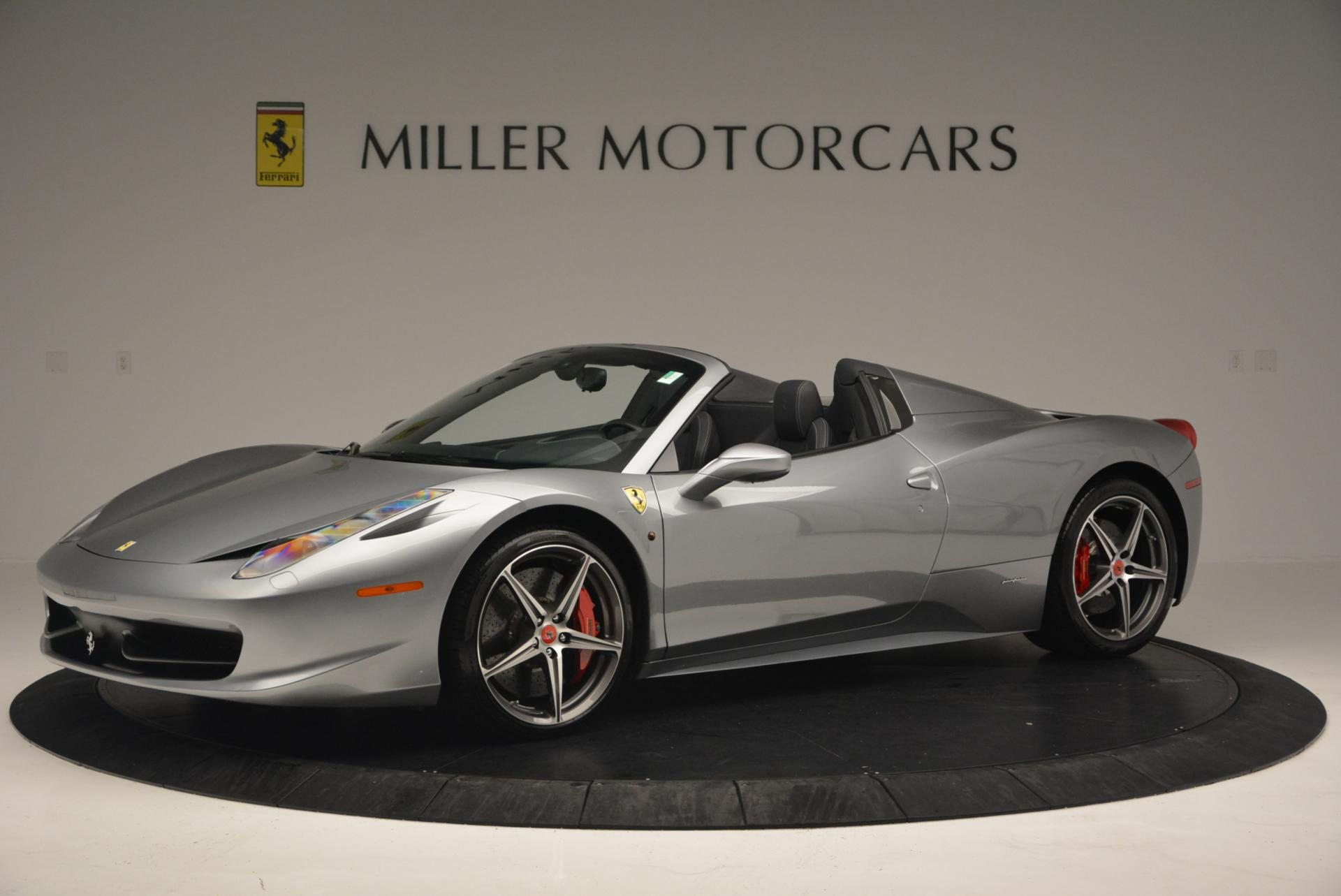 Used 2013 Ferrari 458 Spider  For Sale In Greenwich, CT 128_p2