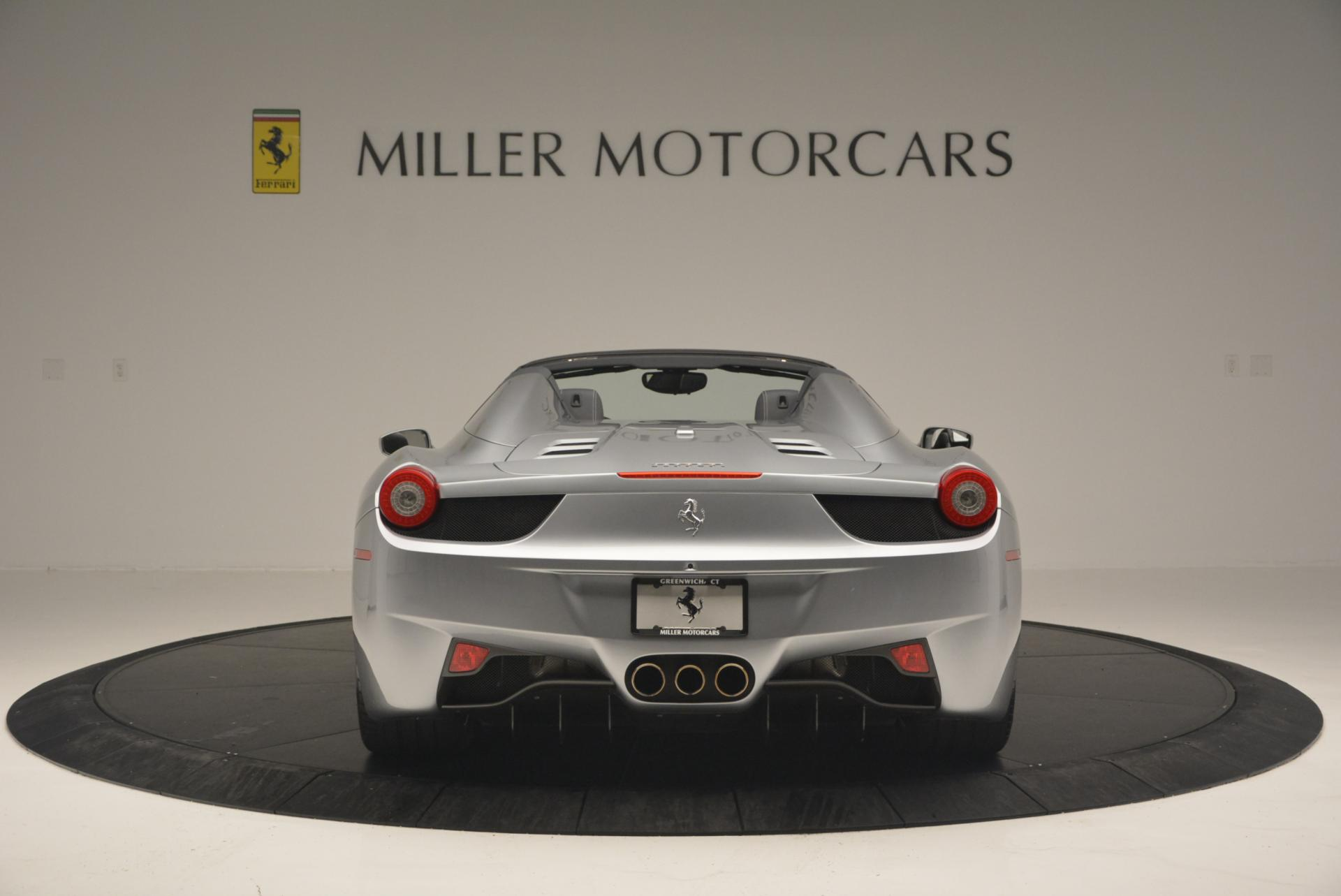 Used 2013 Ferrari 458 Spider  For Sale In Greenwich, CT 128_p6