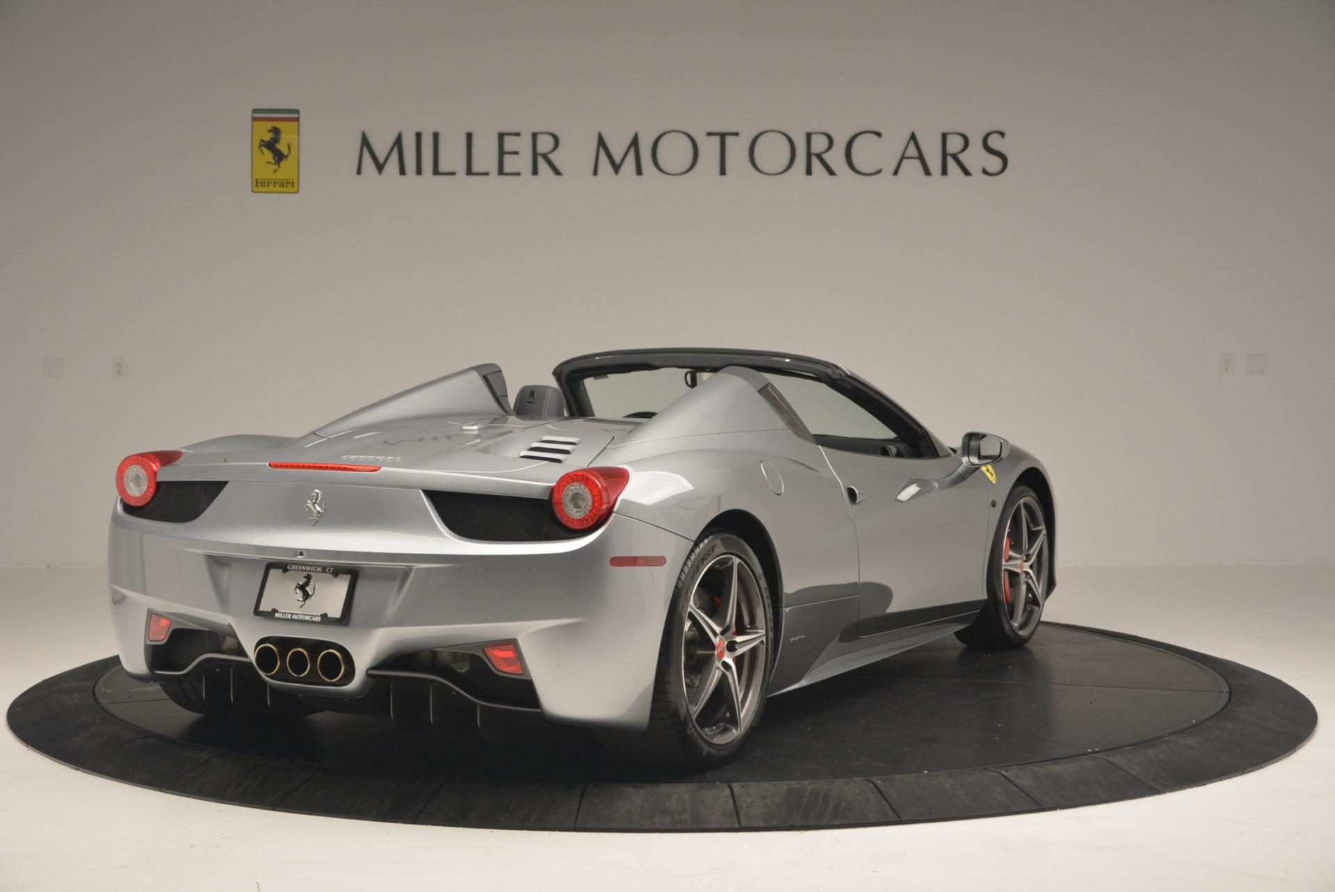 Used 2013 Ferrari 458 Spider  For Sale In Greenwich, CT 128_p7