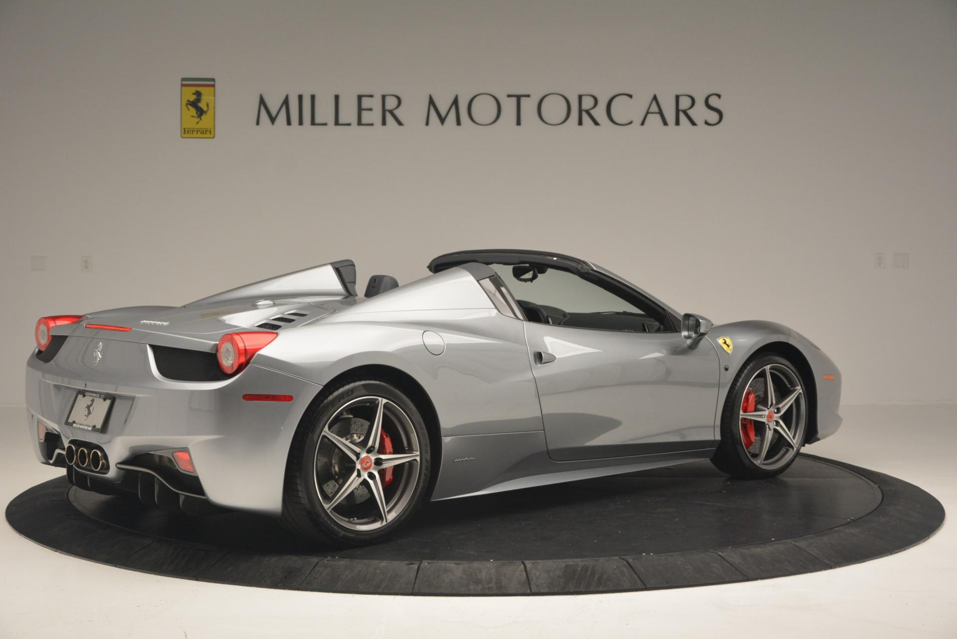 Used 2013 Ferrari 458 Spider  For Sale In Greenwich, CT 128_p8
