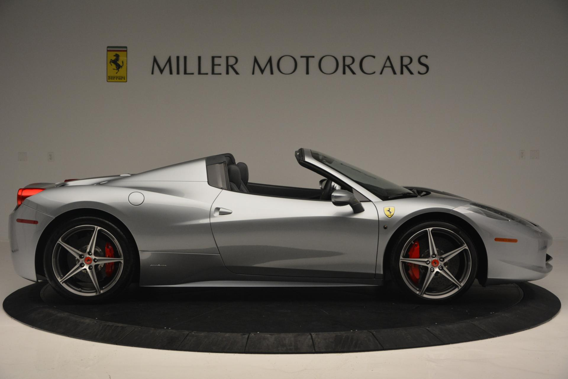 Used 2013 Ferrari 458 Spider  For Sale In Greenwich, CT 128_p9