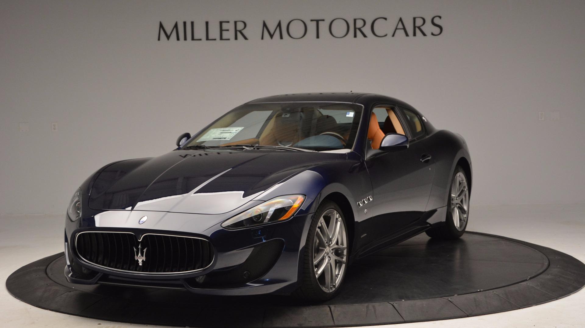 New 2017 Maserati GranTurismo Coupe Sport For Sale In Greenwich, CT 1295_main