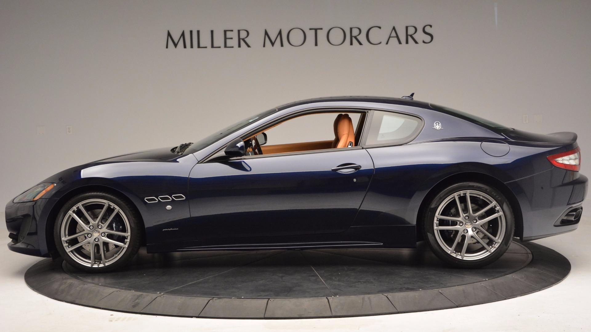 New 2017 Maserati GranTurismo Coupe Sport For Sale In Greenwich, CT 1295_p3