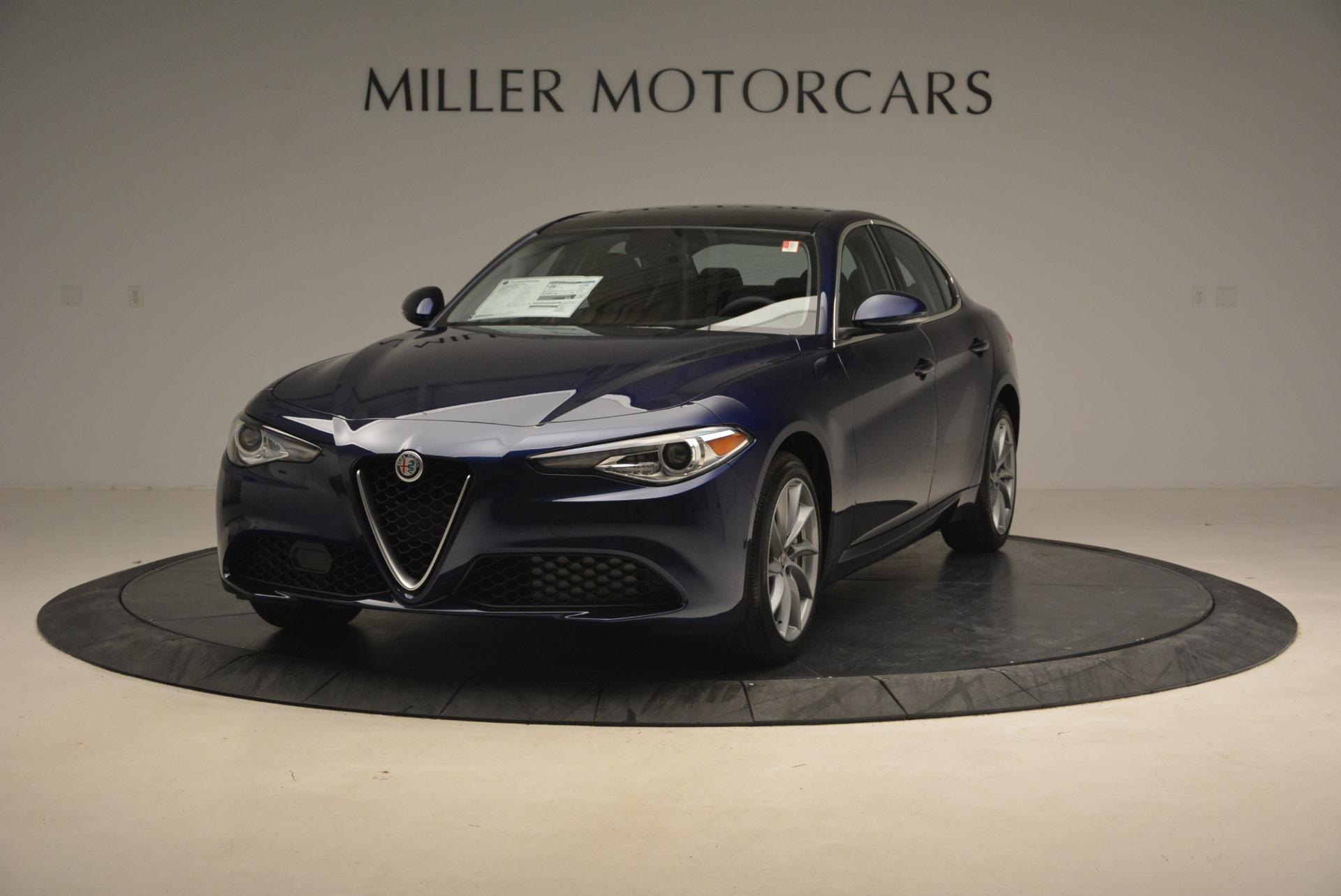 New 2017 Alfa Romeo Giulia Q4 For Sale In Greenwich, CT 1317_main