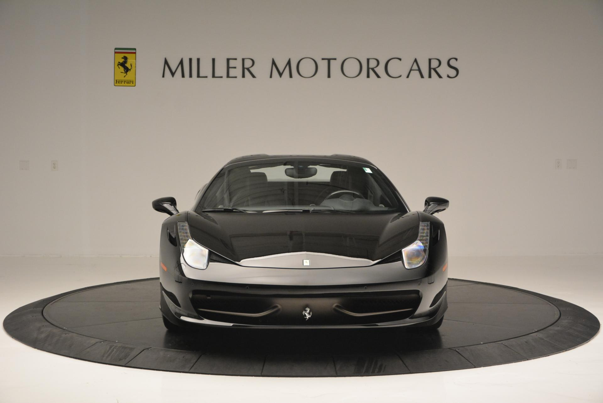 Used 2013 Ferrari 458 Spider  For Sale In Greenwich, CT 132_p24
