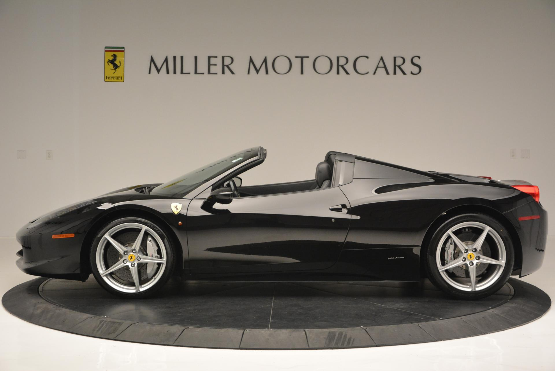 Used 2013 Ferrari 458 Spider  For Sale In Greenwich, CT 132_p3