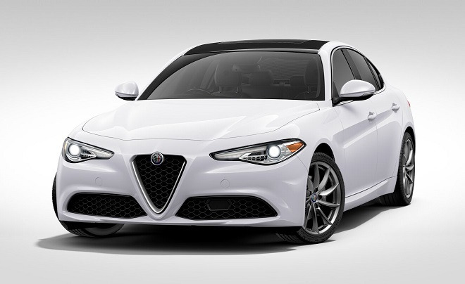 New 2017 Alfa Romeo Giulia Q4 For Sale In Greenwich, CT 1324_main