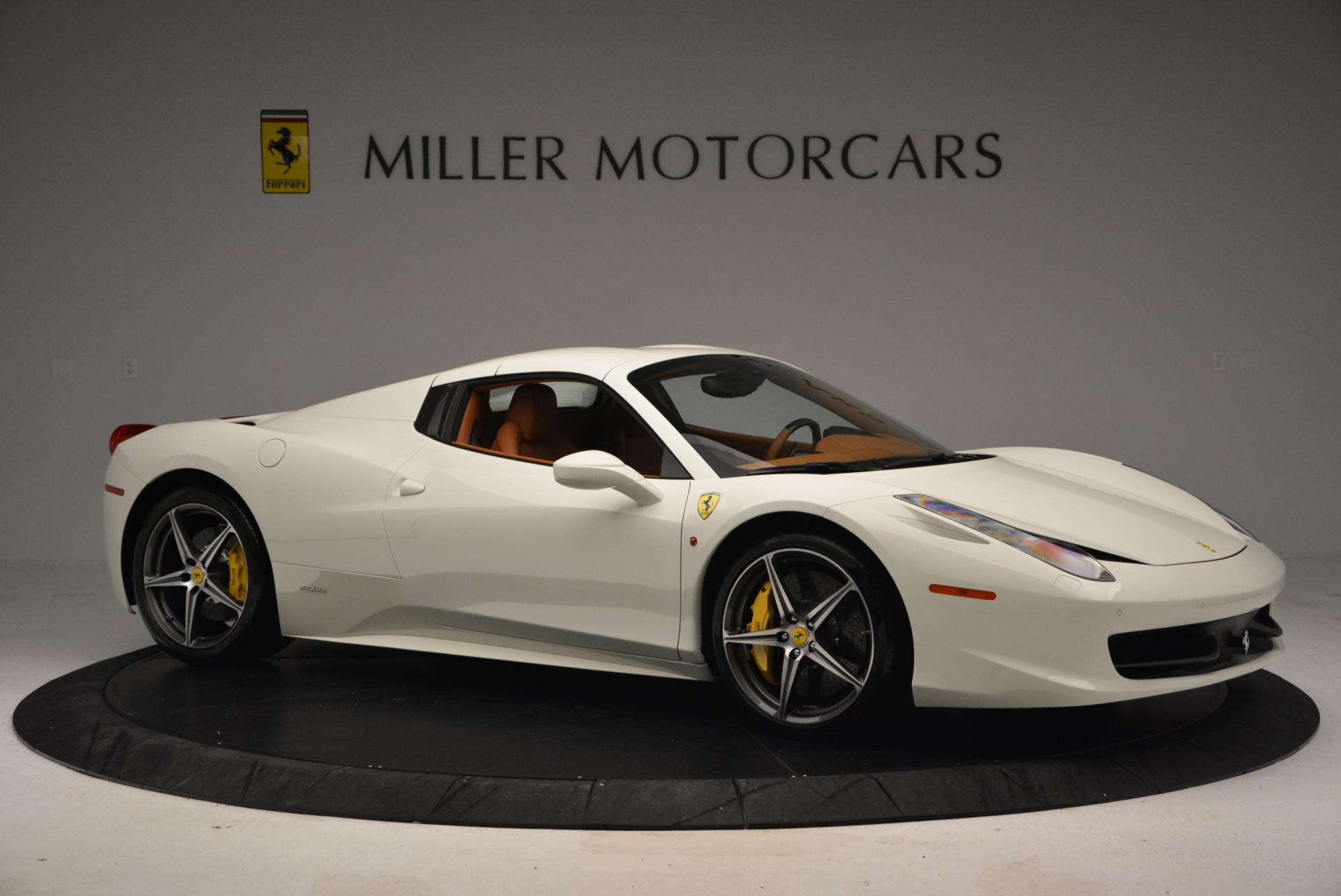 Used 2012 Ferrari 458 Spider  For Sale In Greenwich, CT 133_p22