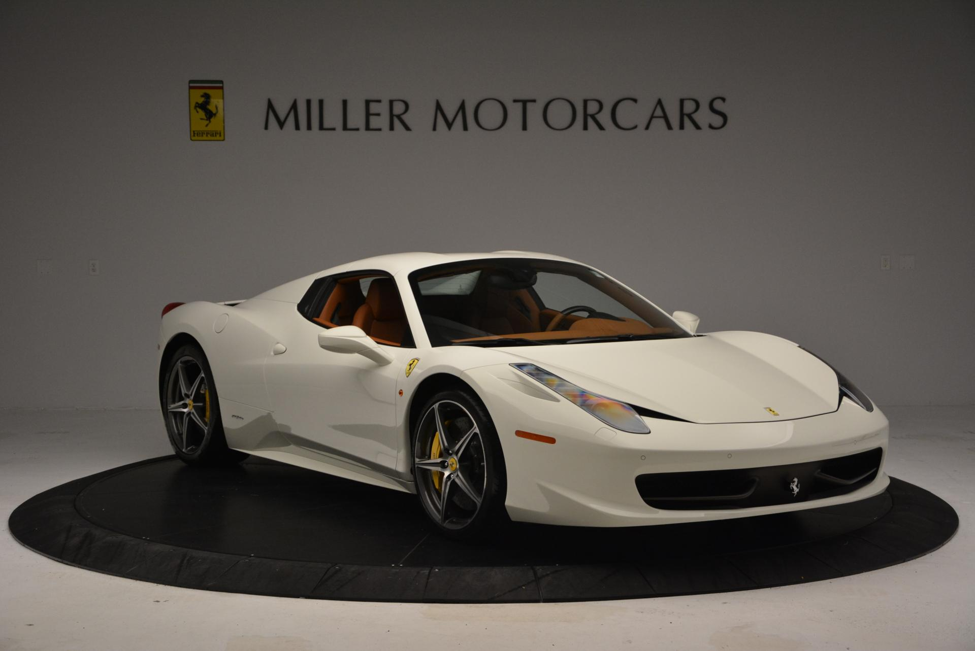 Used 2012 Ferrari 458 Spider  For Sale In Greenwich, CT 133_p23