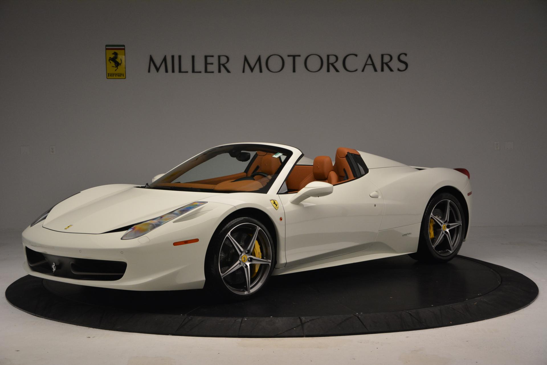 Used 2012 Ferrari 458 Spider  For Sale In Greenwich, CT 133_p2