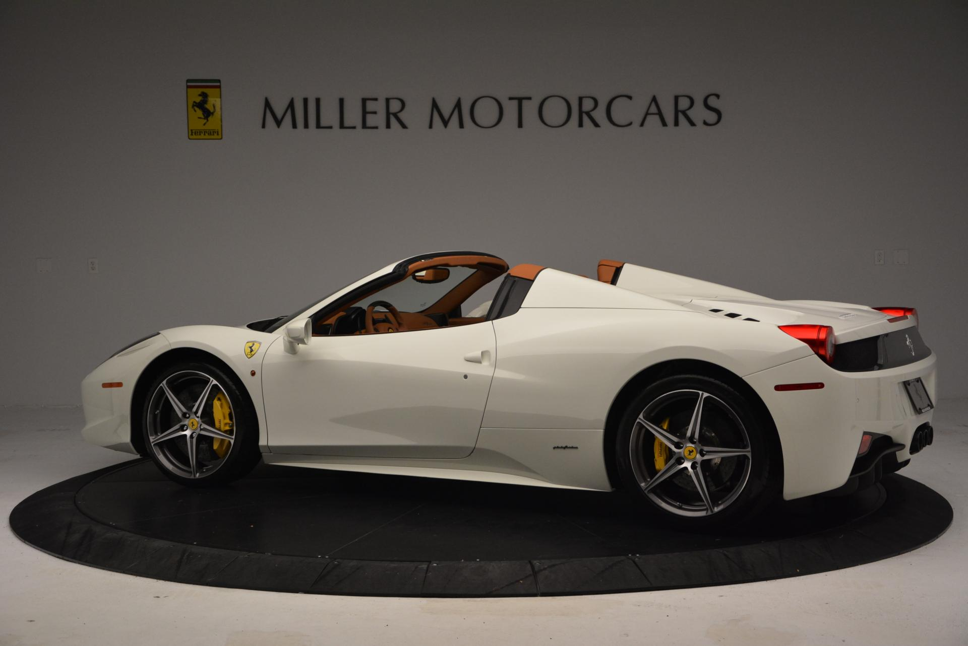 Used 2012 Ferrari 458 Spider  For Sale In Greenwich, CT 133_p4