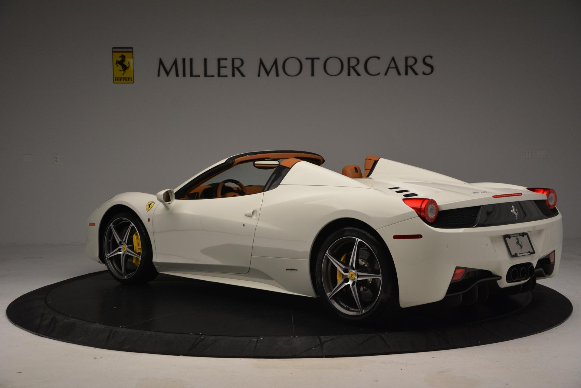 Used 2012 Ferrari 458 Spider  For Sale In Greenwich, CT 133_p5