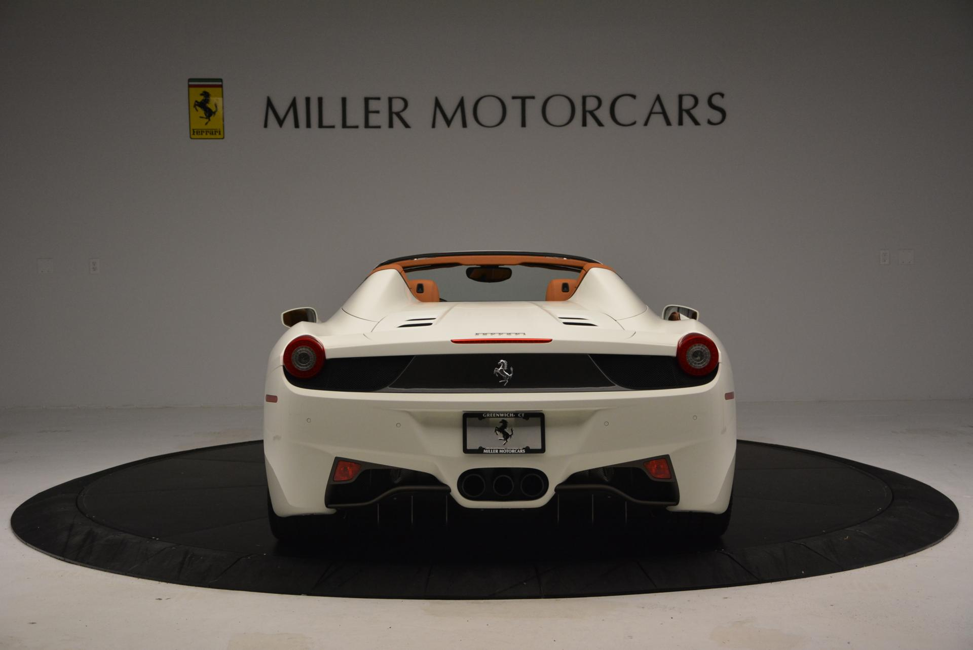 Used 2012 Ferrari 458 Spider  For Sale In Greenwich, CT 133_p6