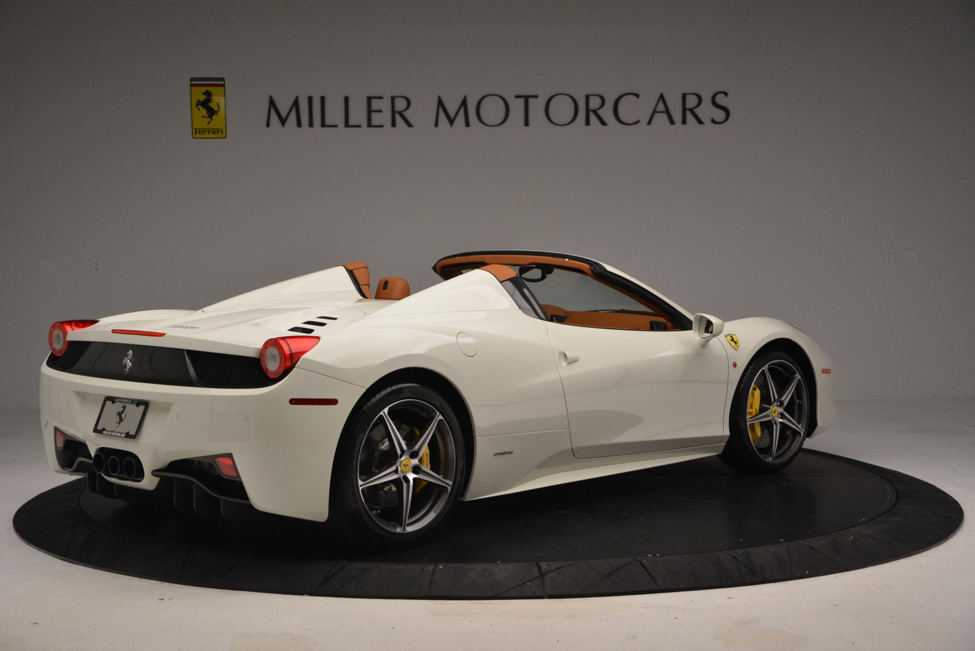 Used 2012 Ferrari 458 Spider  For Sale In Greenwich, CT 133_p8