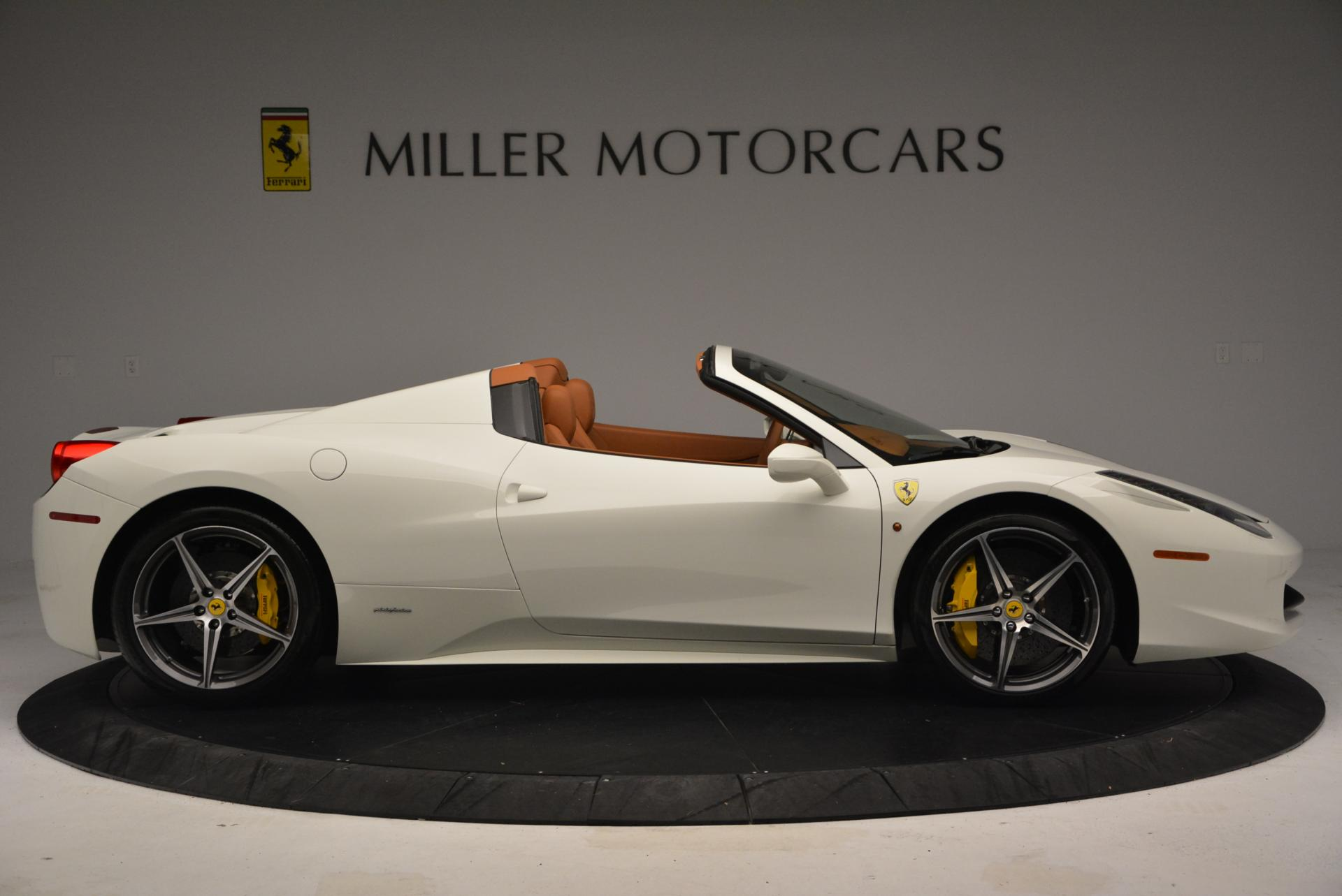 Used 2012 Ferrari 458 Spider  For Sale In Greenwich, CT 133_p9
