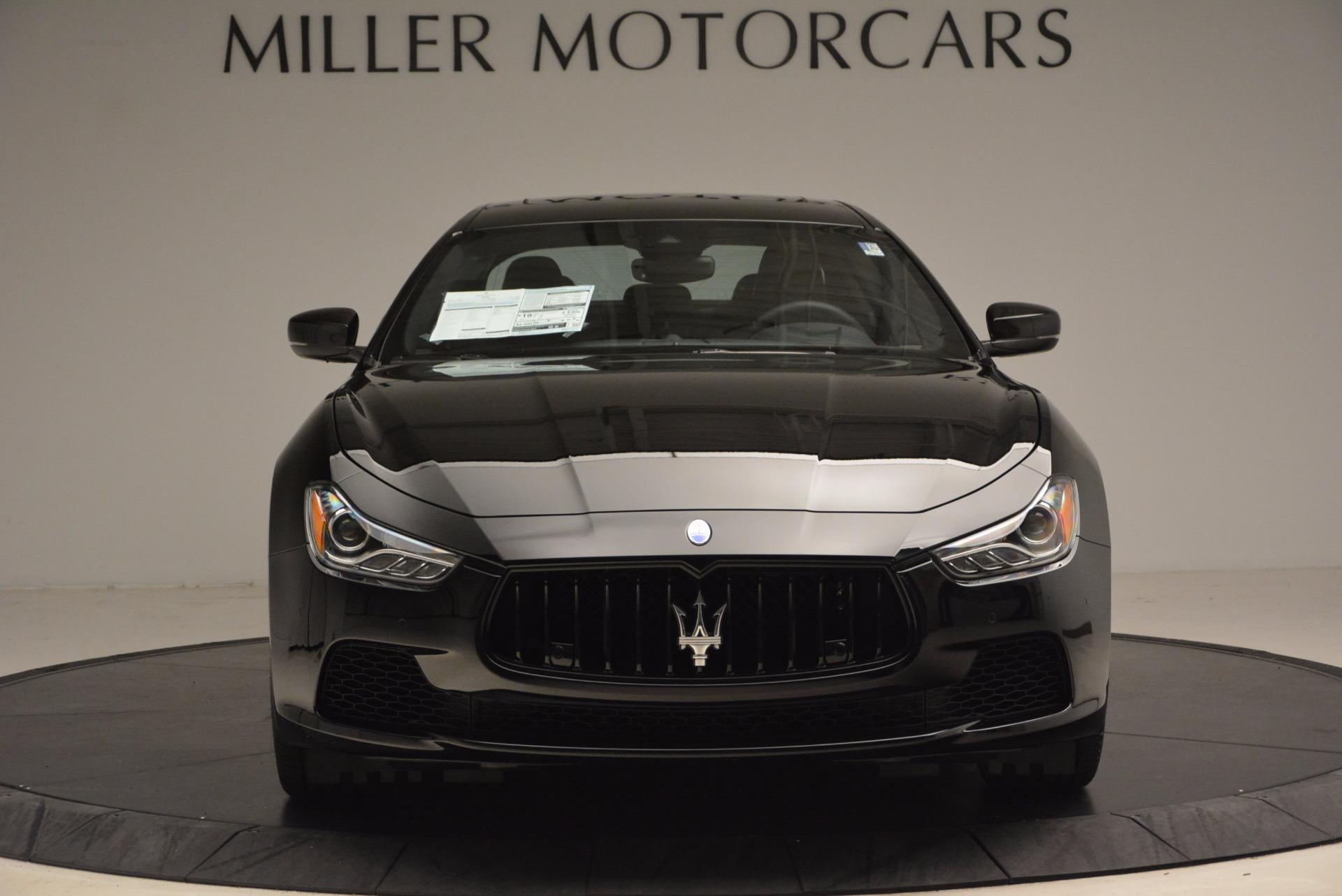 New 2017 Maserati Ghibli SQ4 S Q4 Nerissimo Edition For Sale In Greenwich, CT 1334_p12
