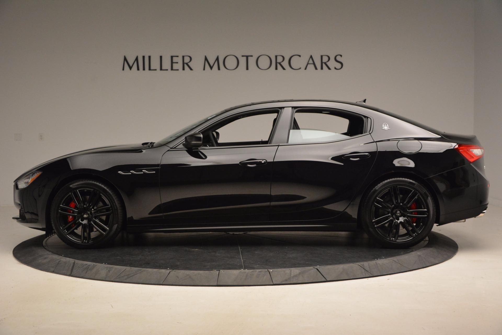New 2017 Maserati Ghibli SQ4 S Q4 Nerissimo Edition For Sale In Greenwich, CT 1334_p3