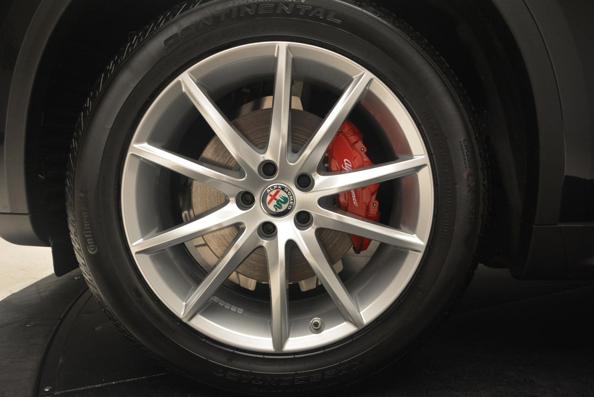 New 2018 Alfa Romeo Stelvio Ti Q4 For Sale In Greenwich, CT 1352_p26
