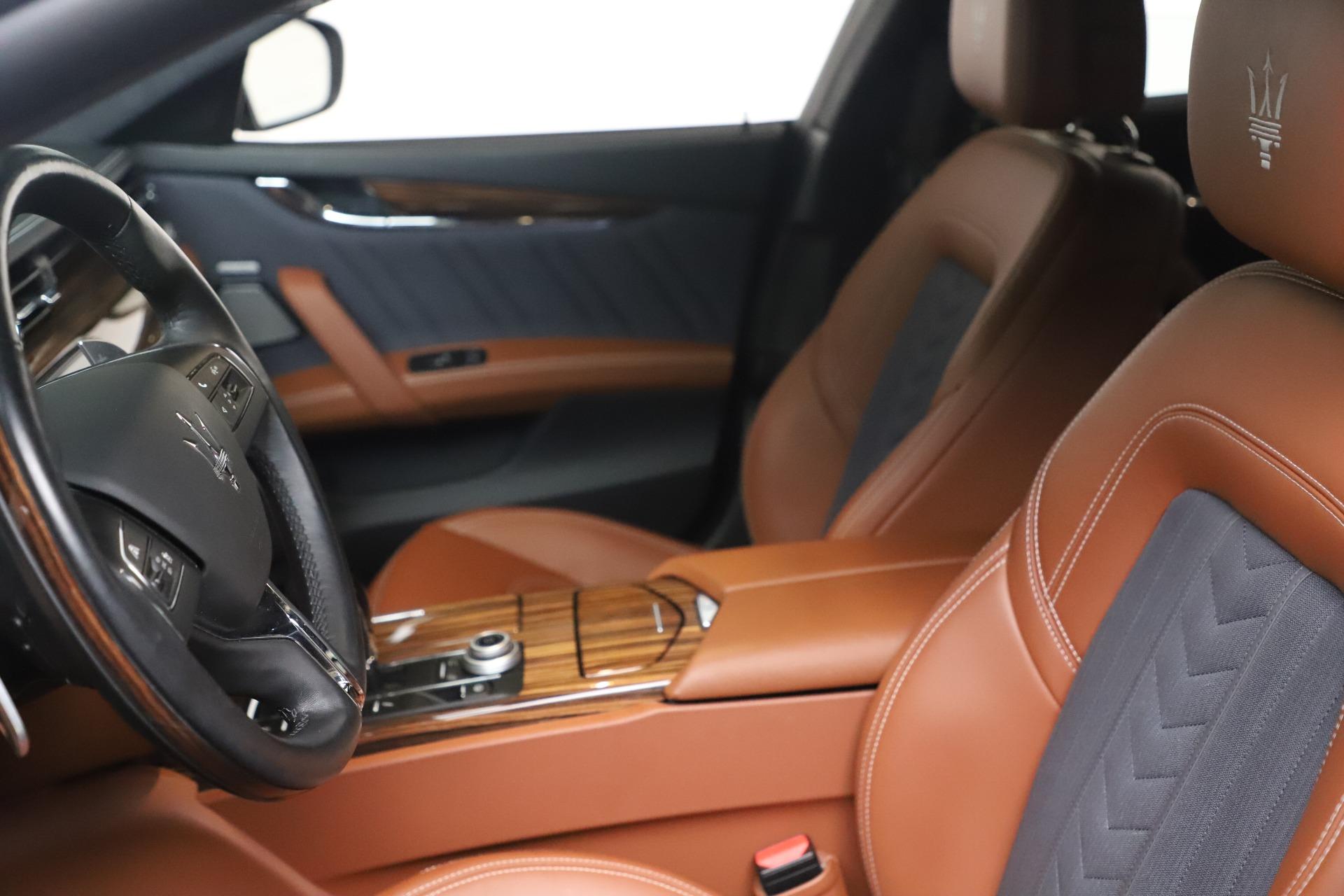 New 2017 Maserati Quattroporte SQ4 GranLusso/ Zegna For Sale In Greenwich, CT 1355_p14