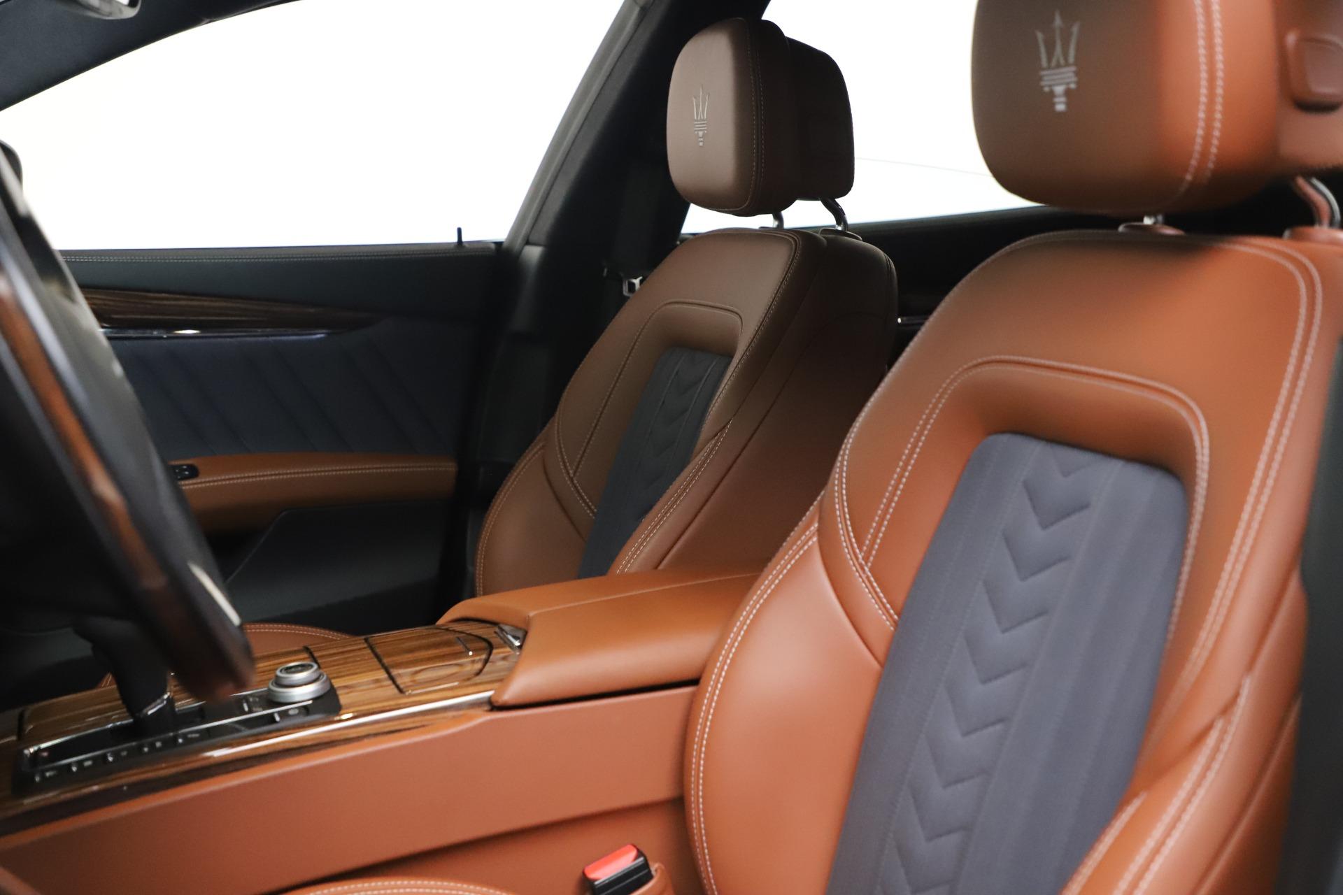 New 2017 Maserati Quattroporte SQ4 GranLusso/ Zegna For Sale In Greenwich, CT 1355_p15