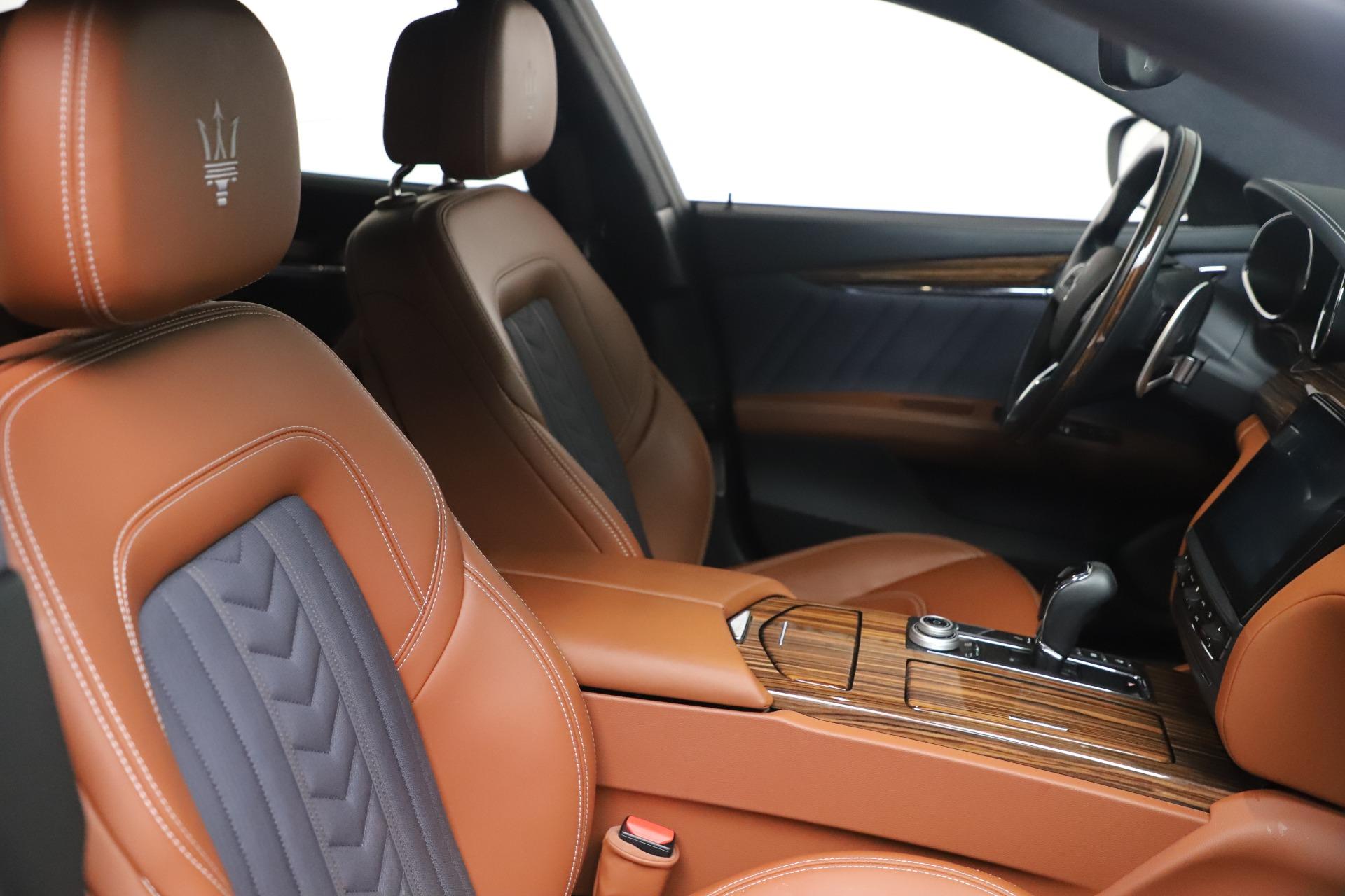 New 2017 Maserati Quattroporte SQ4 GranLusso/ Zegna For Sale In Greenwich, CT 1355_p20